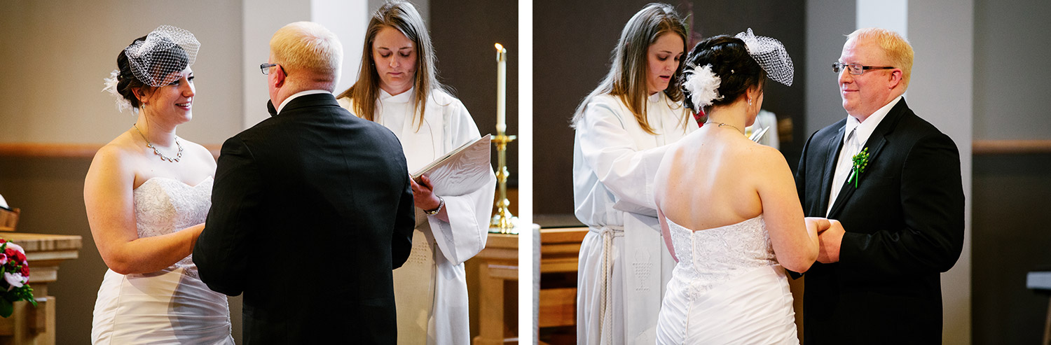 brainerd wedding at Lord of Life Lutheran Church in Baxter, MN