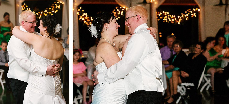 Brainerd wedding reception at Cragun's Legacy