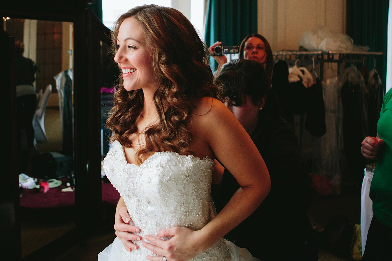 Duluth, MN Greysolon Ballroom Winter Wedding