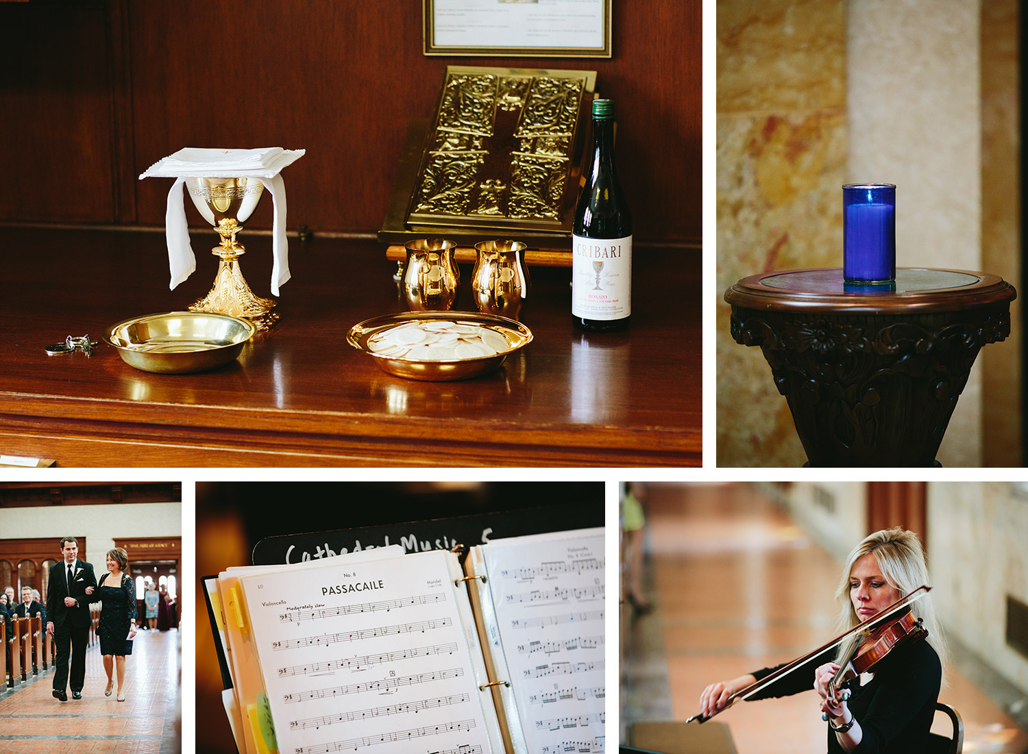 Duluth Cathedral wedding ceremony images