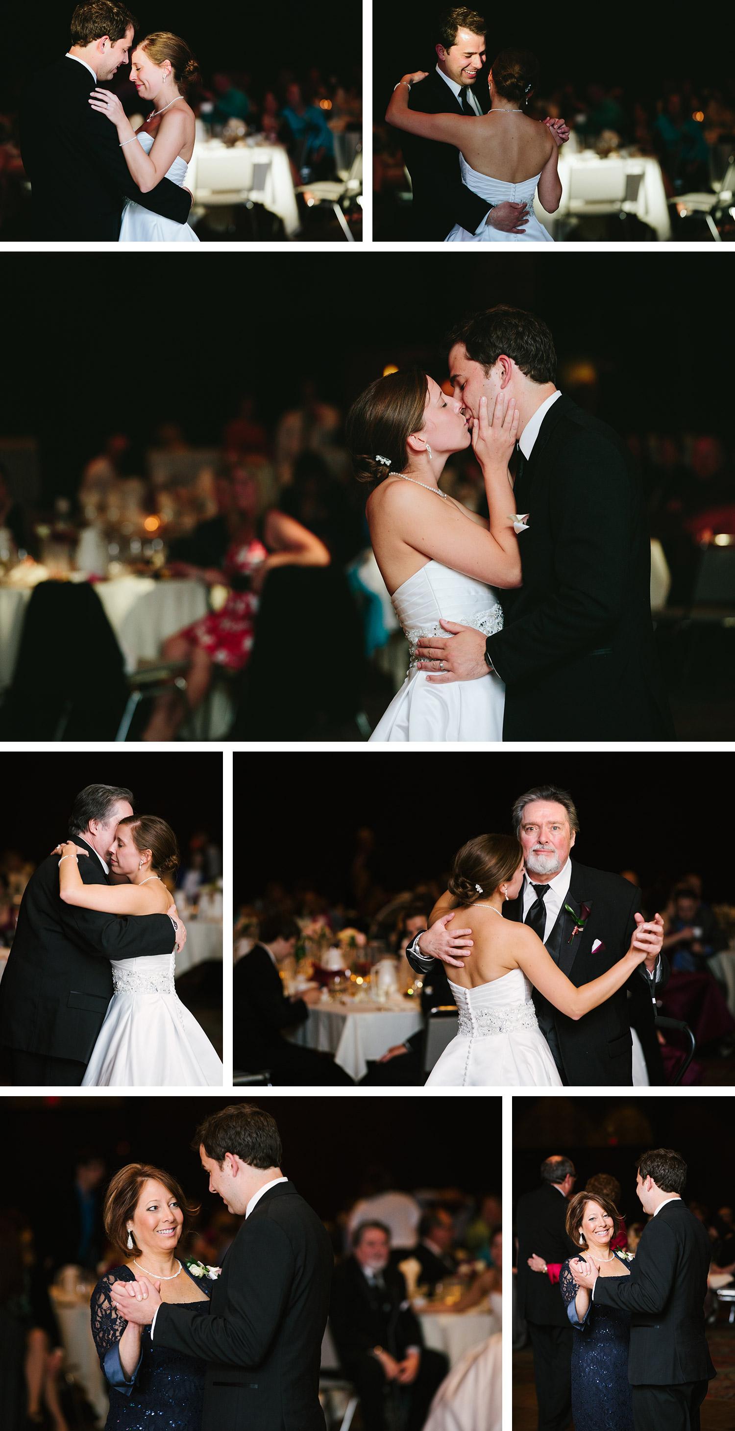 Duluth DECC wedding dance images on Lake Superior