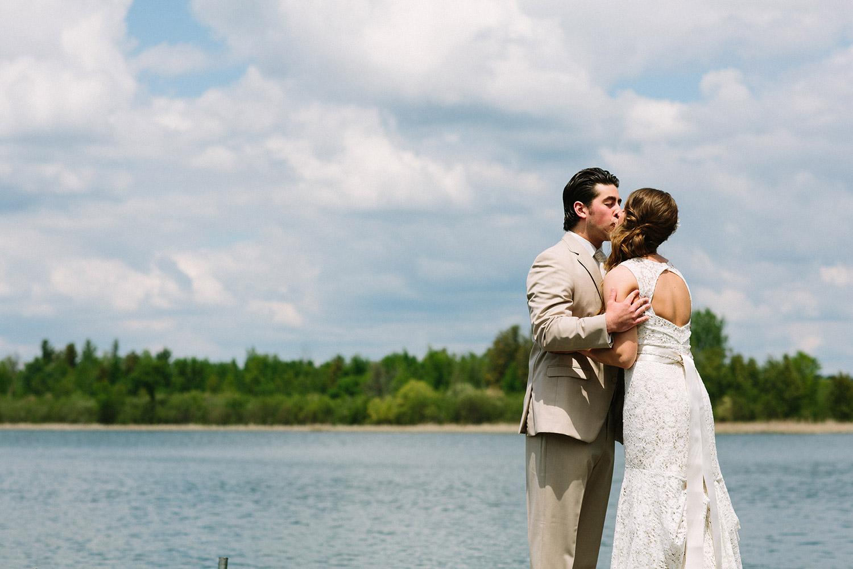 Breezy Point Resort Summer Wedding
