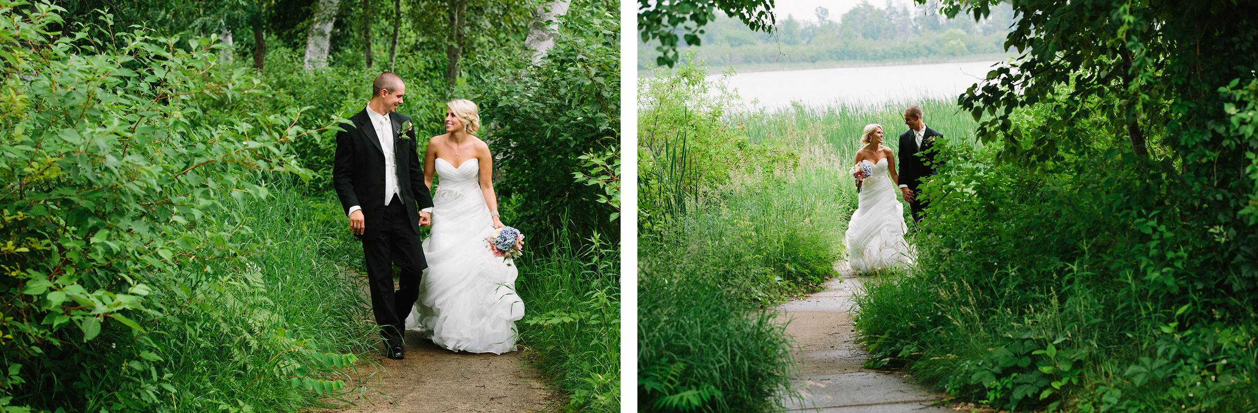 Breezy Point's Antler's Pavilion Wedding and White Birch Room Reception