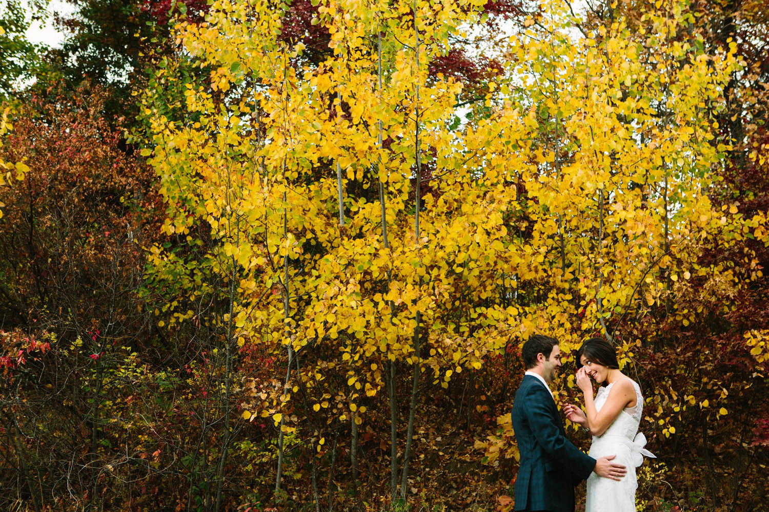 brainerd mn fall wedding at antlers pavilion breezy point resort