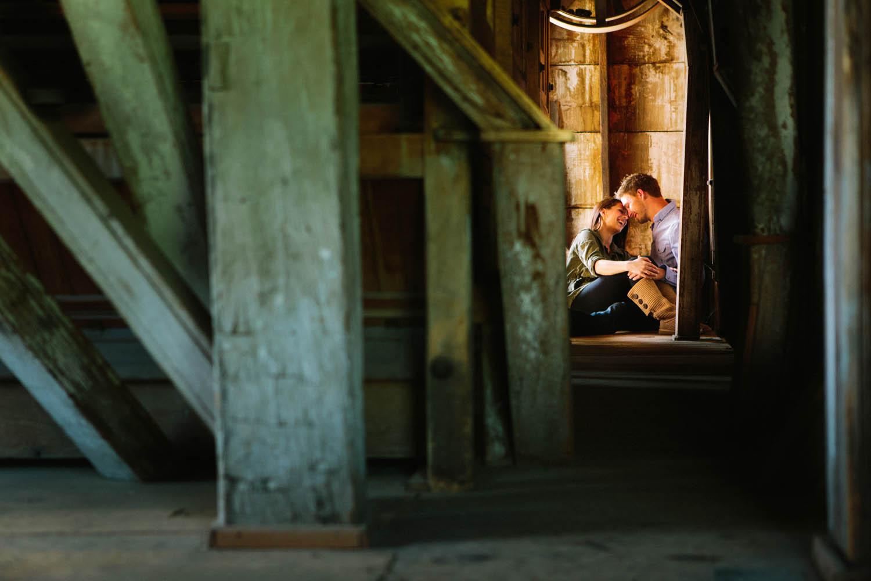brainerd wedding engagement images