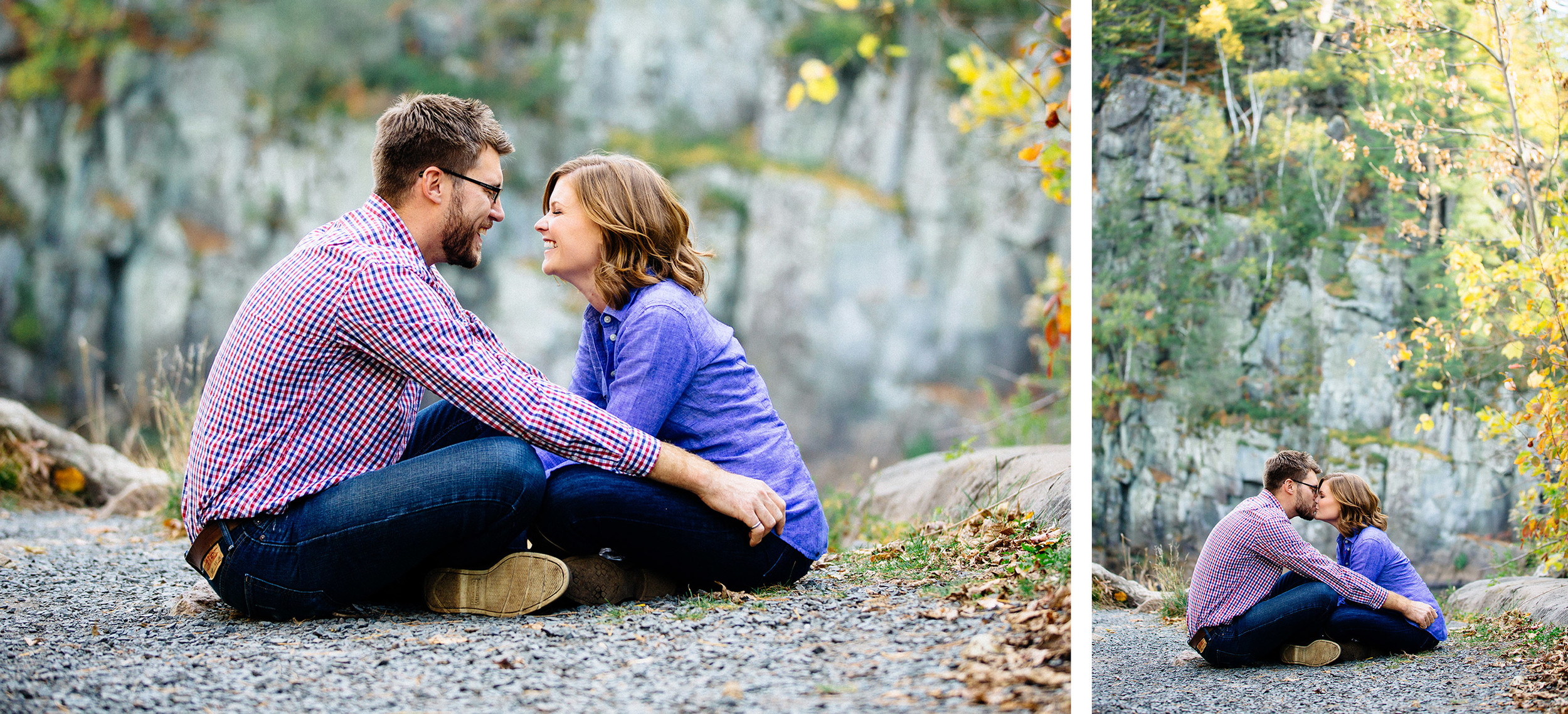 Interstate State Park Fall Engagement Session