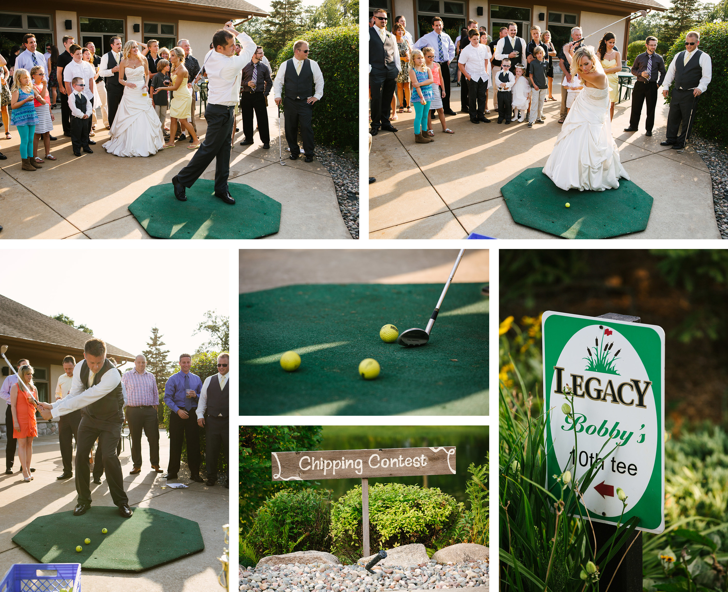 Cragun's Legacy Golf Course Summer Patio Wedding