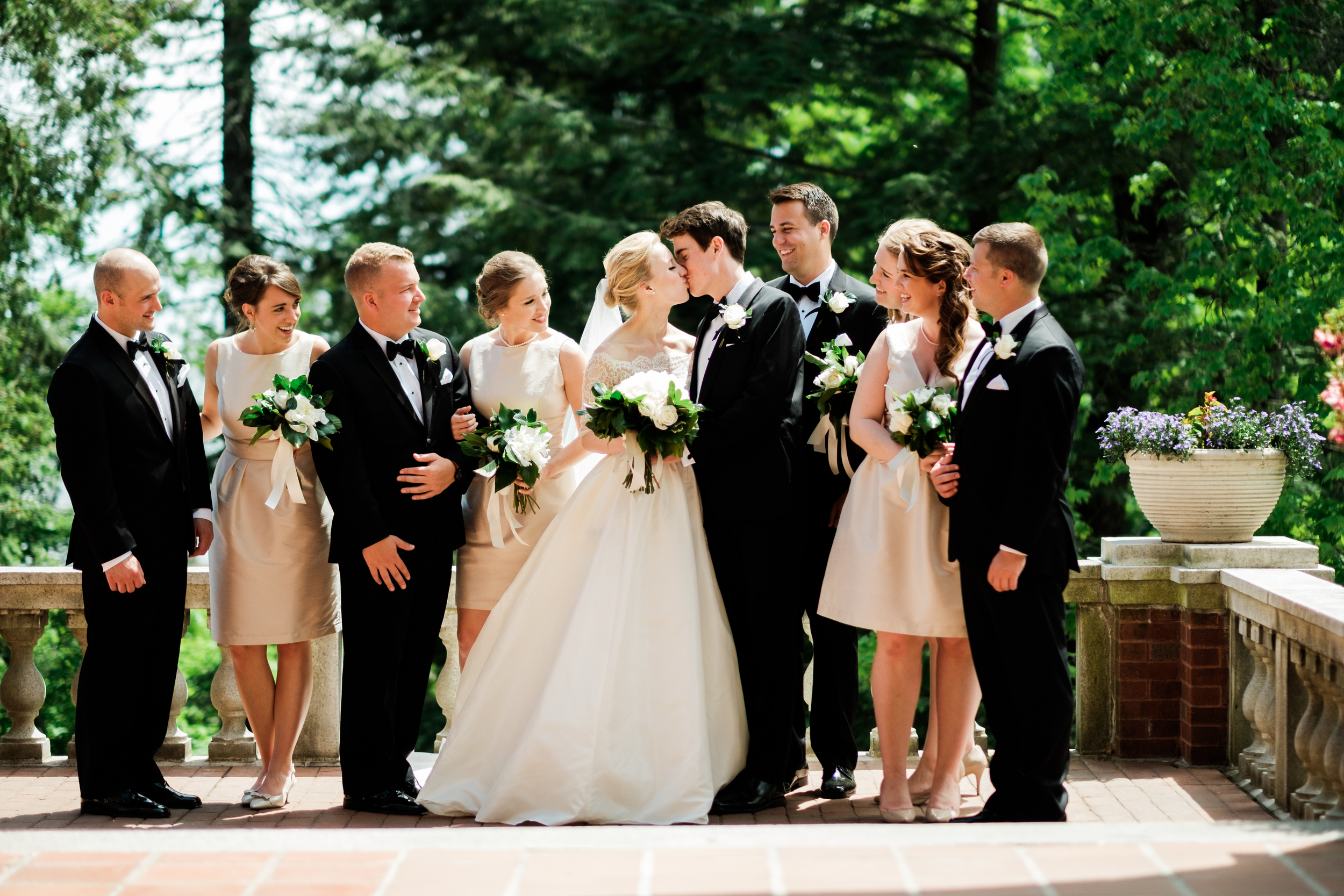 Glensheen Mansion Duluth Classic Wedding