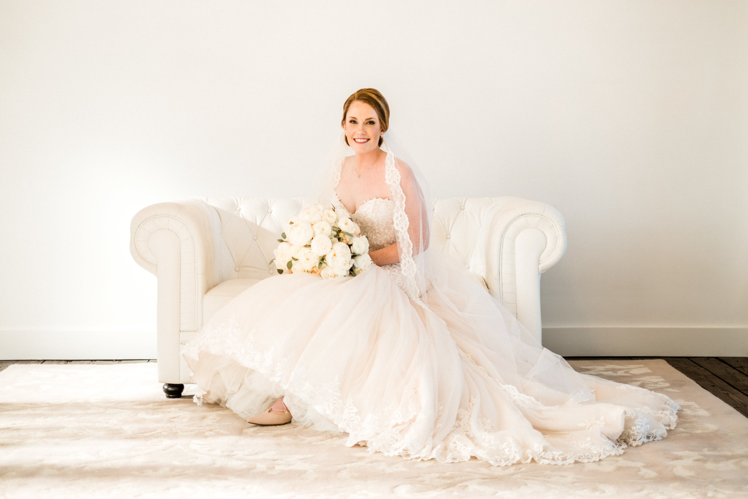 The NP Space in Brainerd, MN bridal portrait