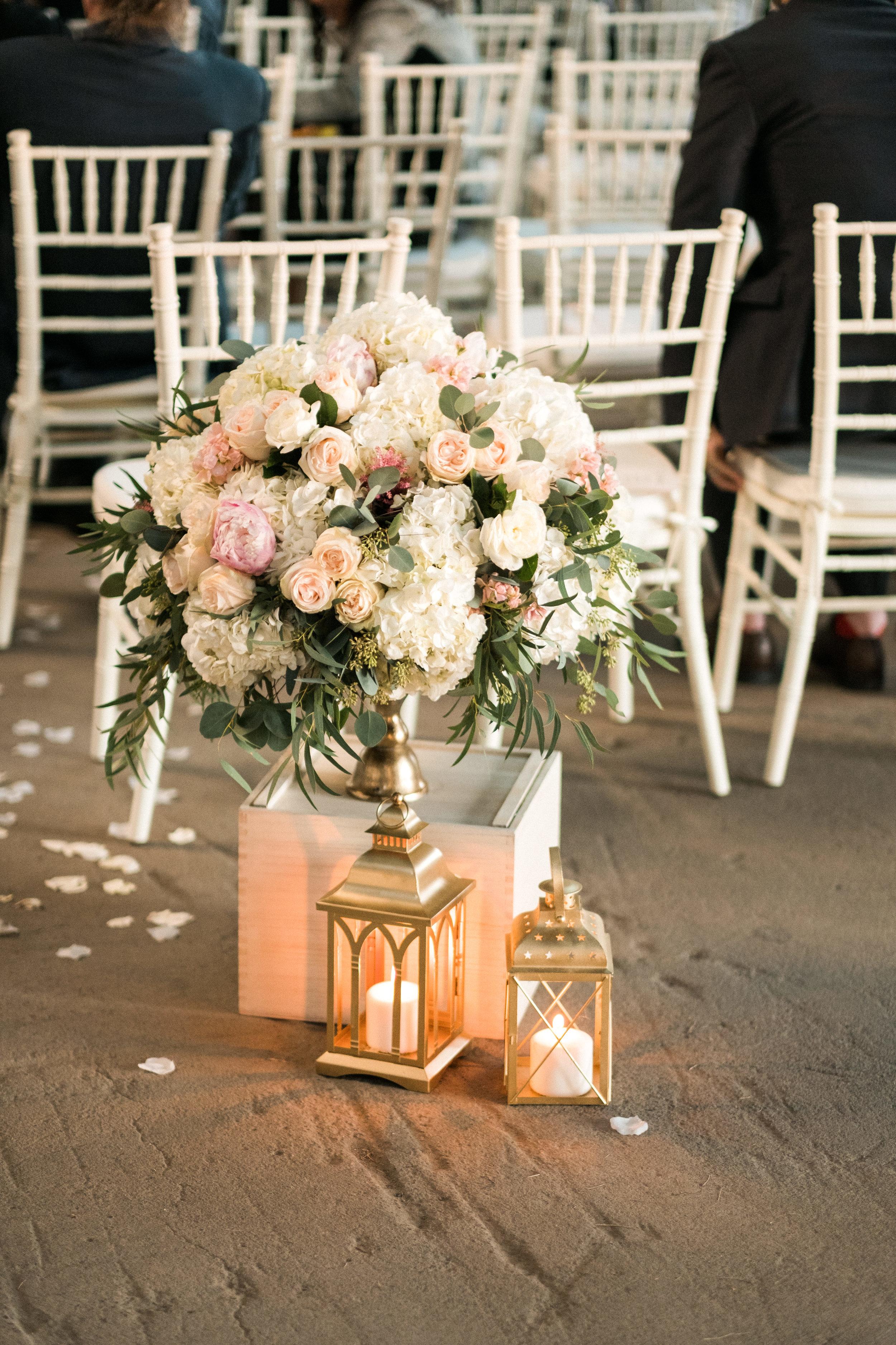 an amazing floral arrangement by bloom designs