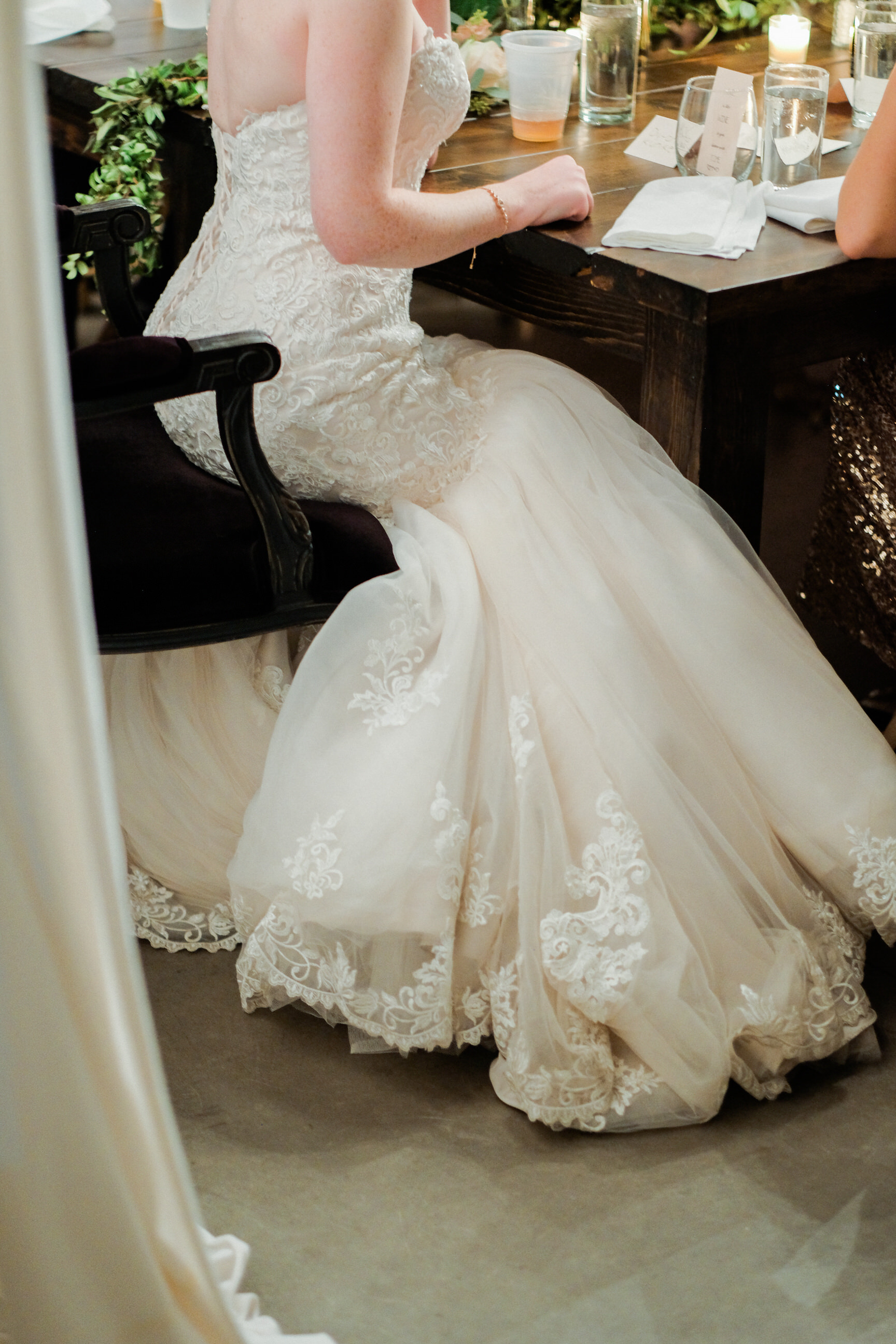 te brides dress