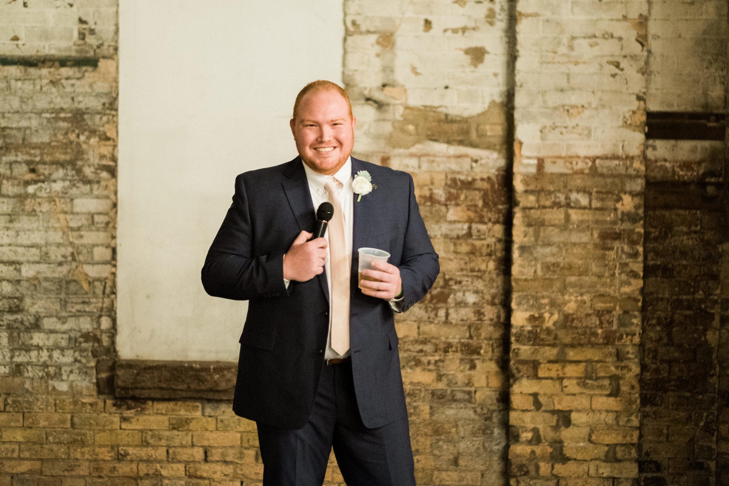 best mans speech with catering by prairie bay in brainerd