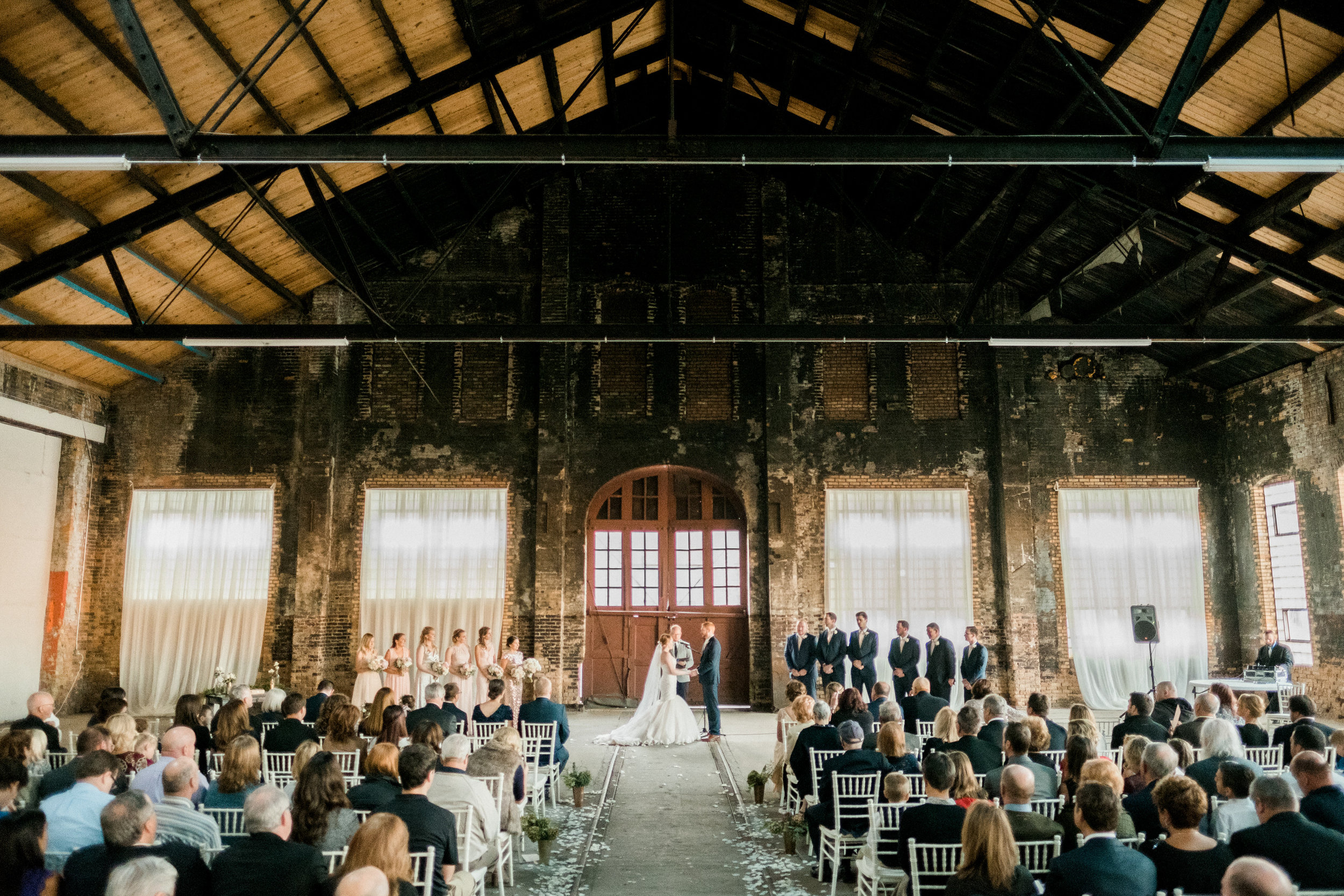 Northern Pacific Center Wedding Ceremony