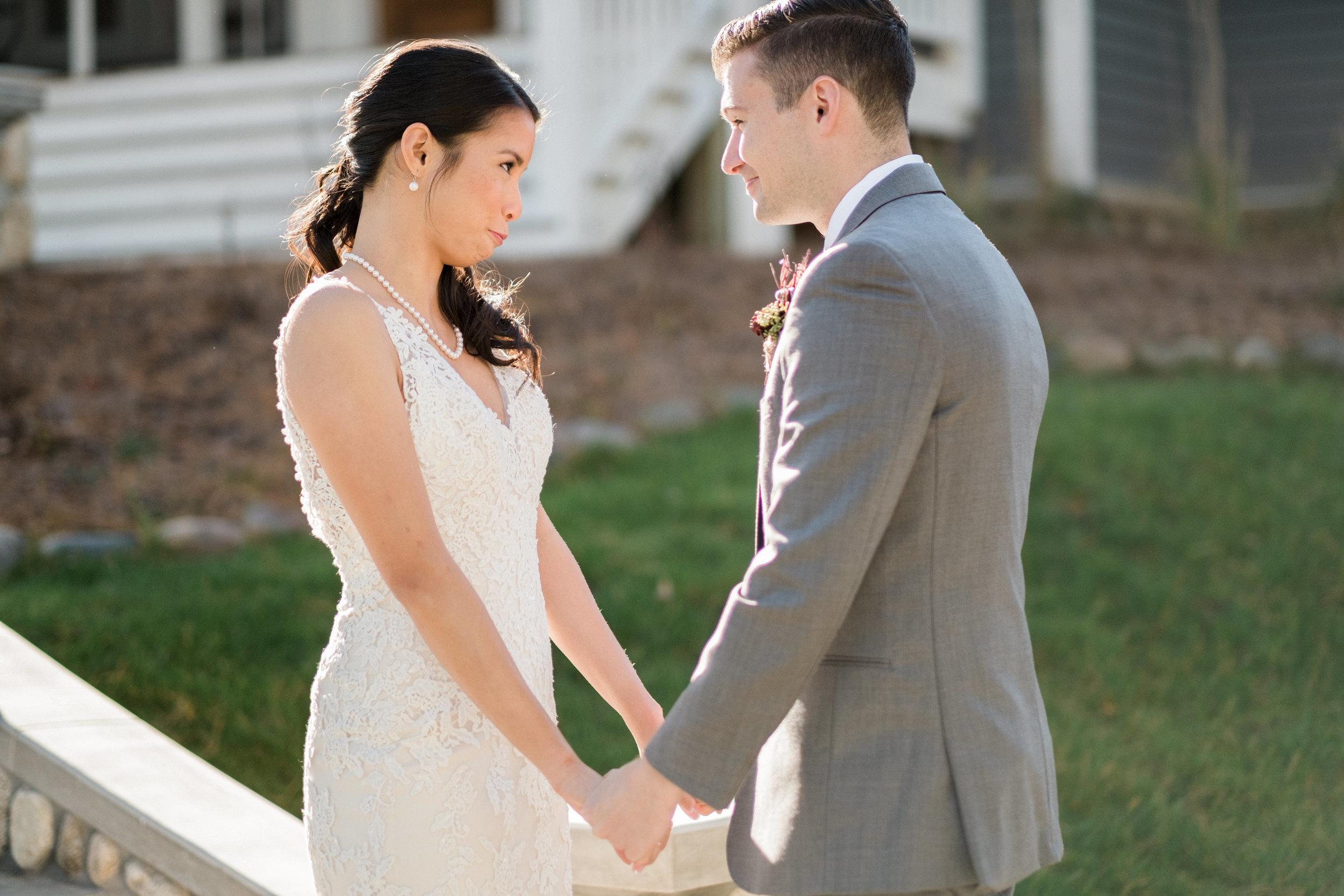 brainerd lakes wedding couple photography