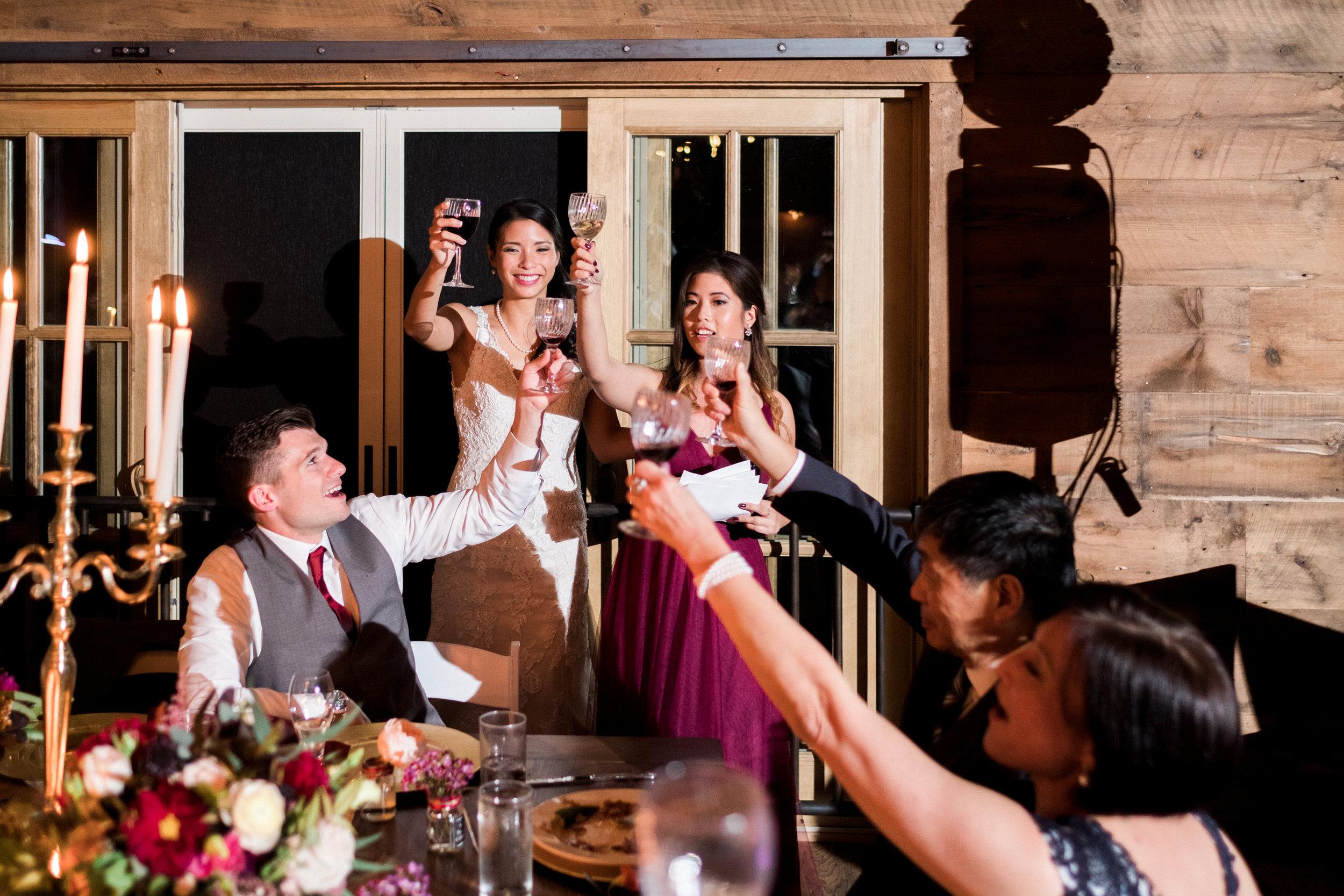 maid of honor toast