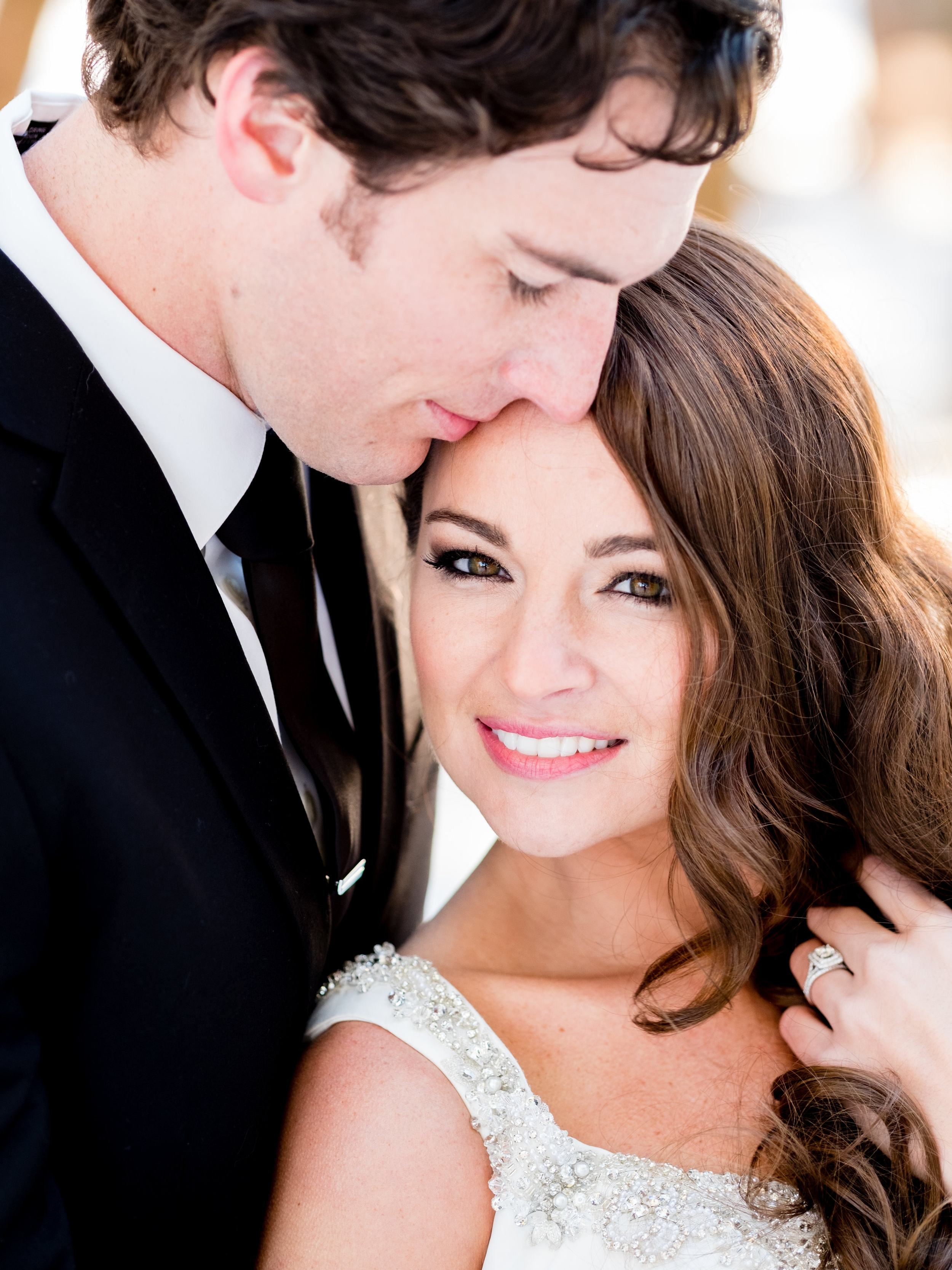 winter wedding images in brainerd, mn