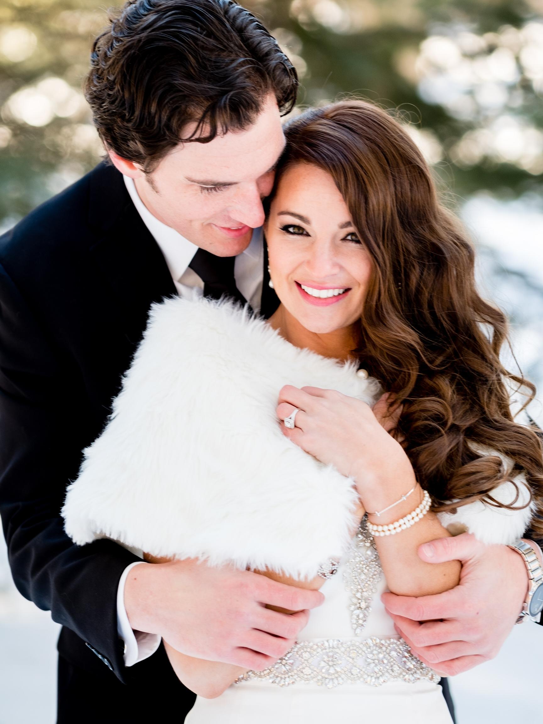 northern mn winter wedding photographer