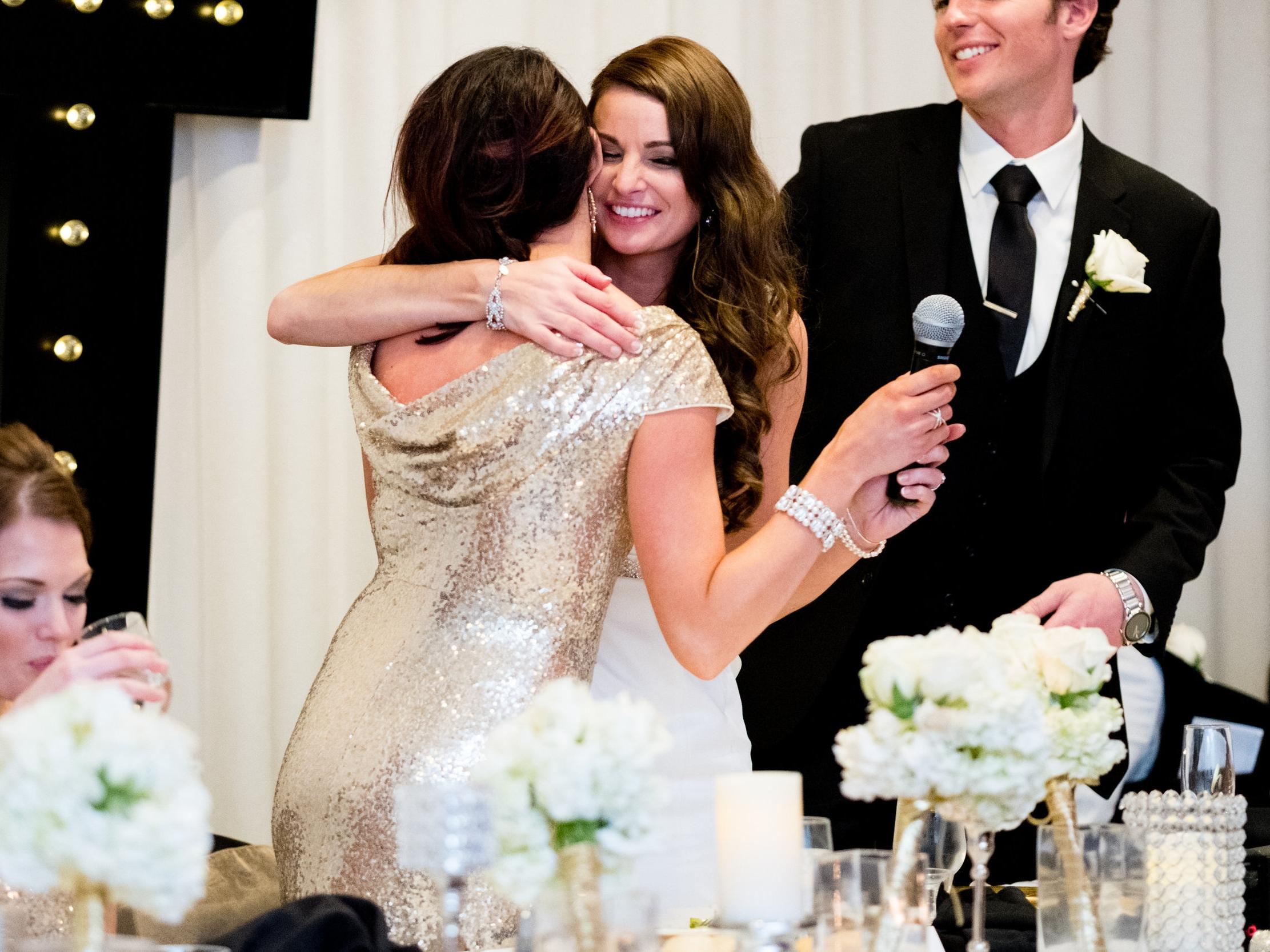 brainerd mn wedding reception maid of honor speech