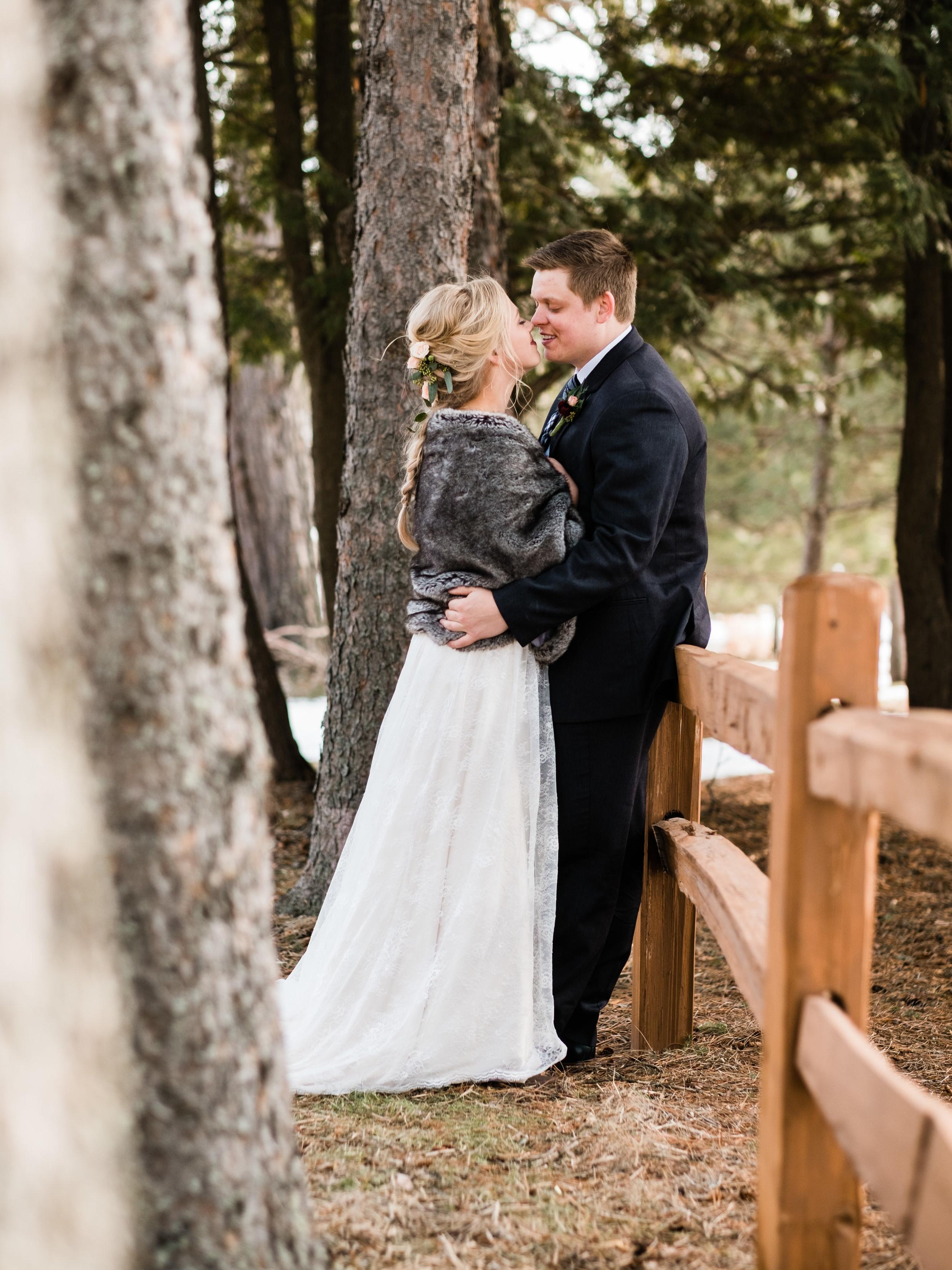 pine peaks wedding in crosslake photographer
