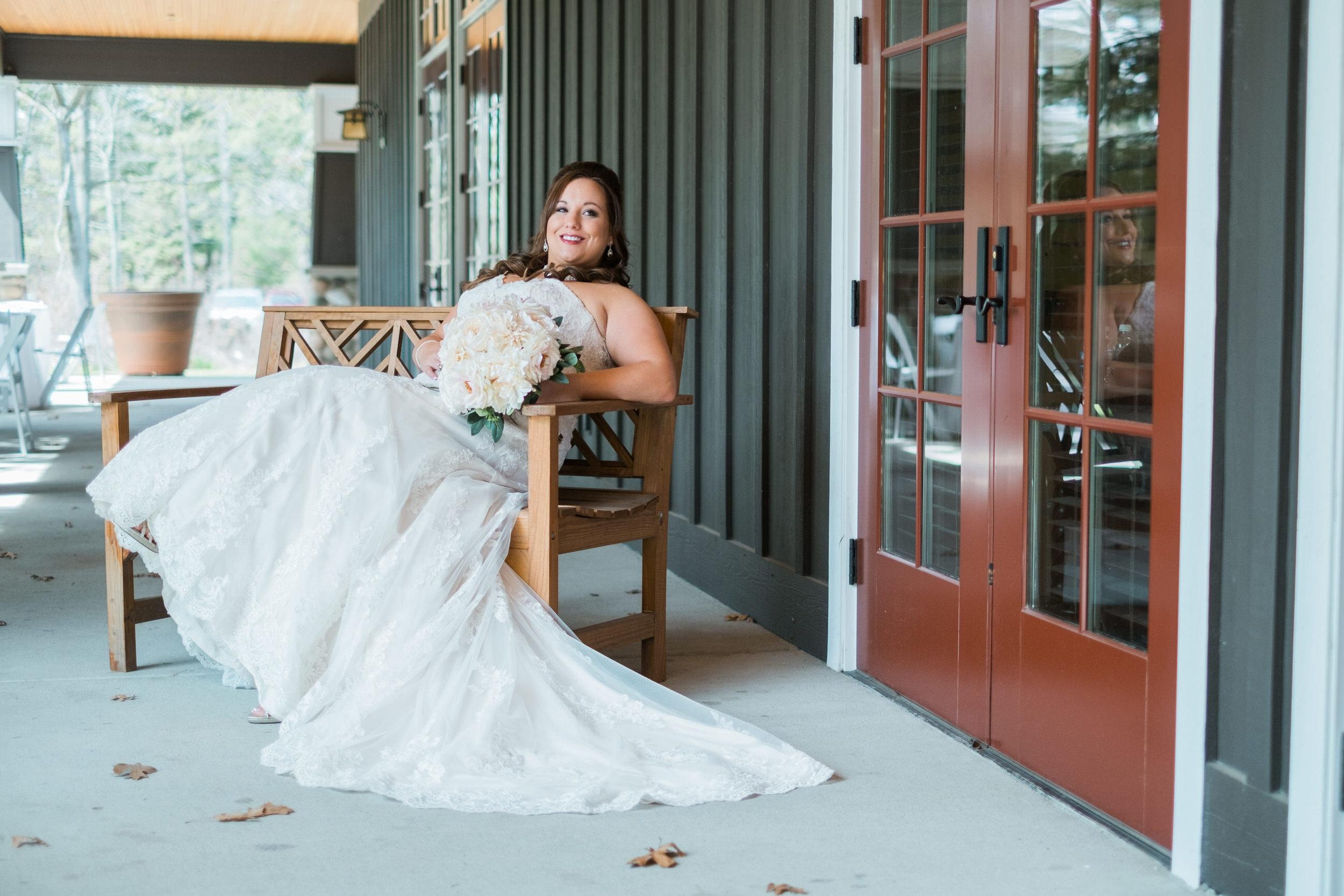 Grand View Lodge bride portrait.