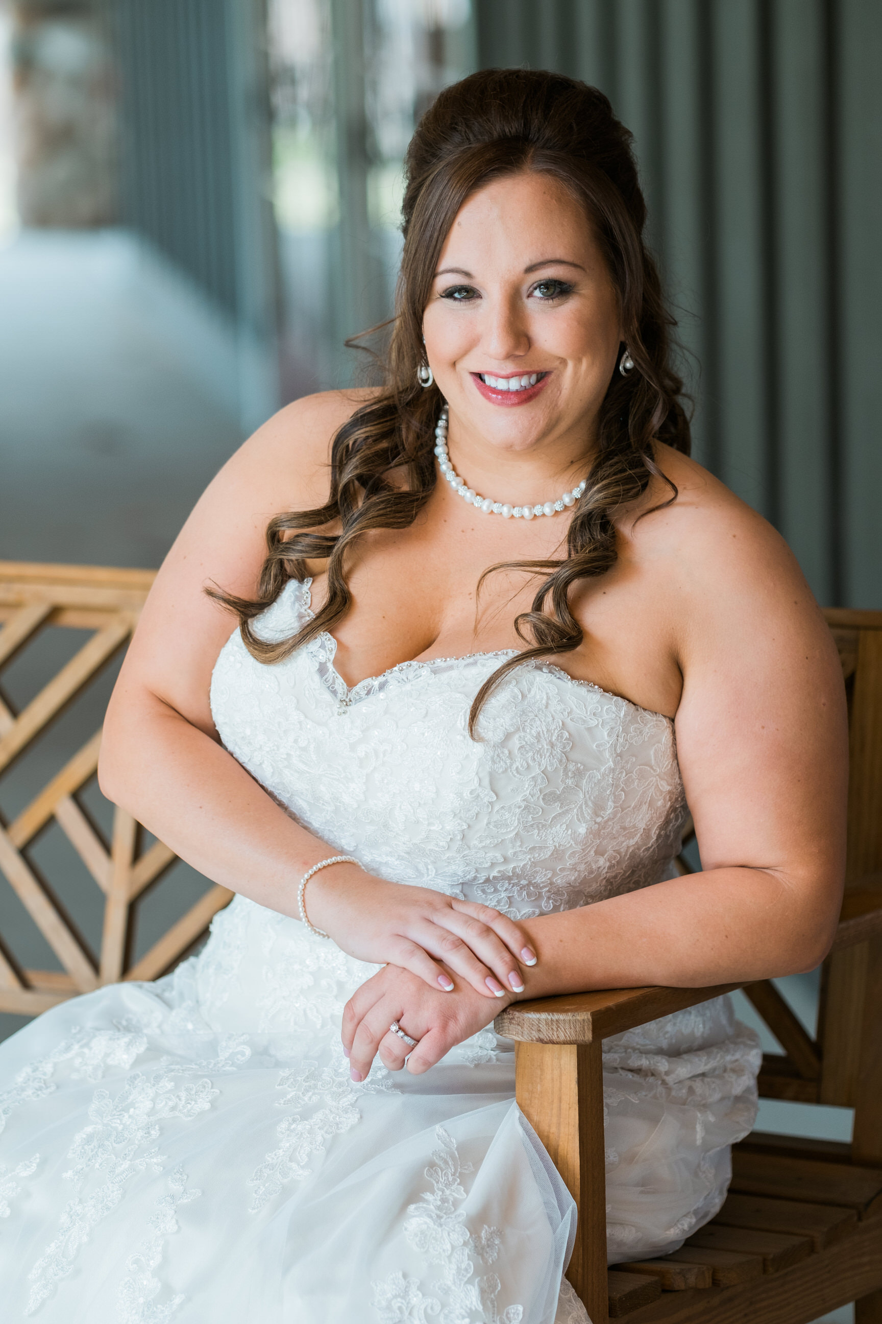 bride portrait at Grand View Lodge's Gull Lake Center