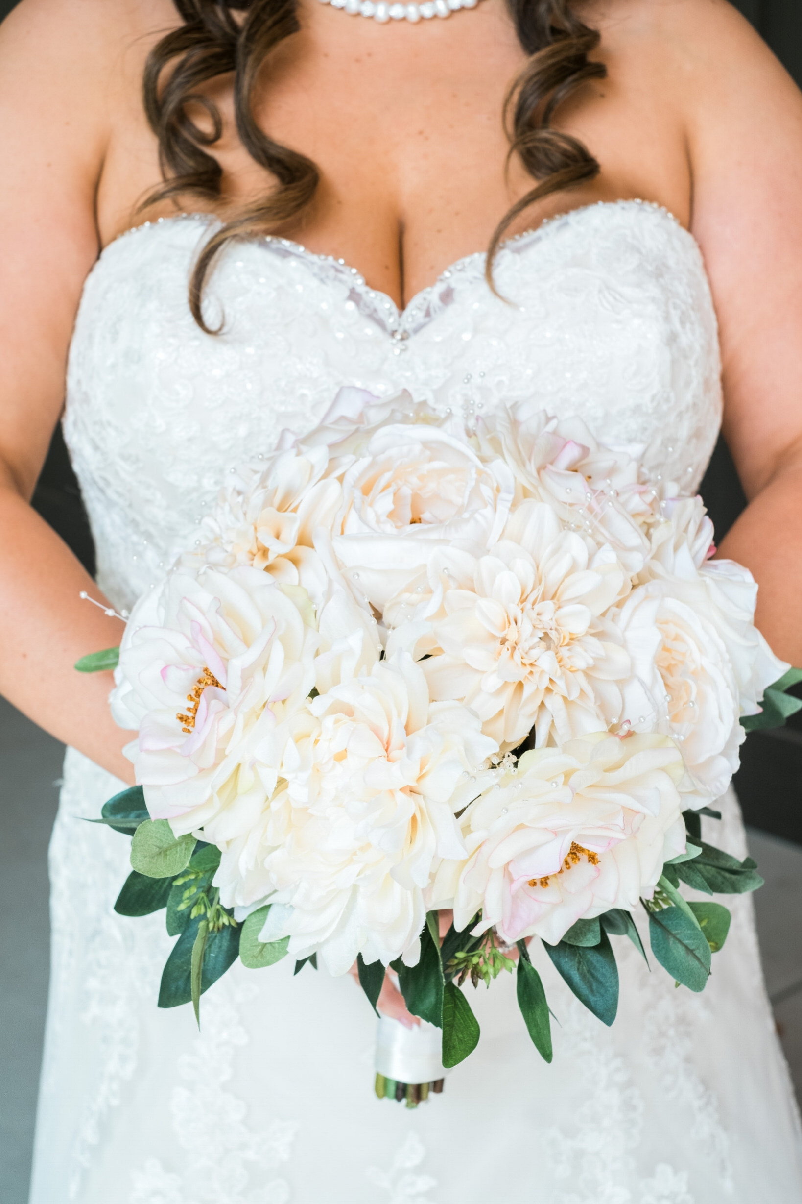 bridal bouquet at Grand View Lodge in Brainerd, MN