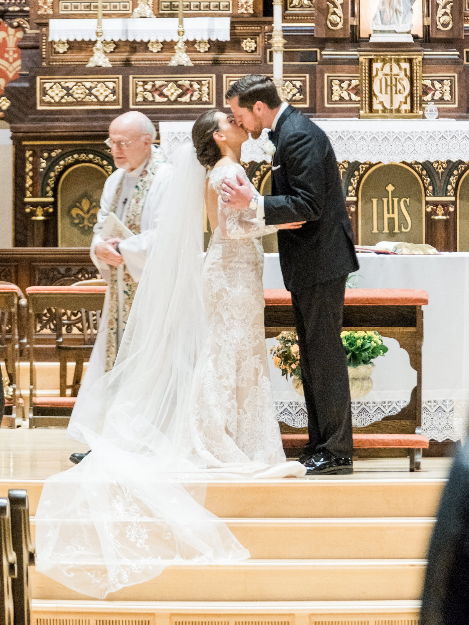 Wedding at Our Lady of the Assumption in Saint Paul, MN
