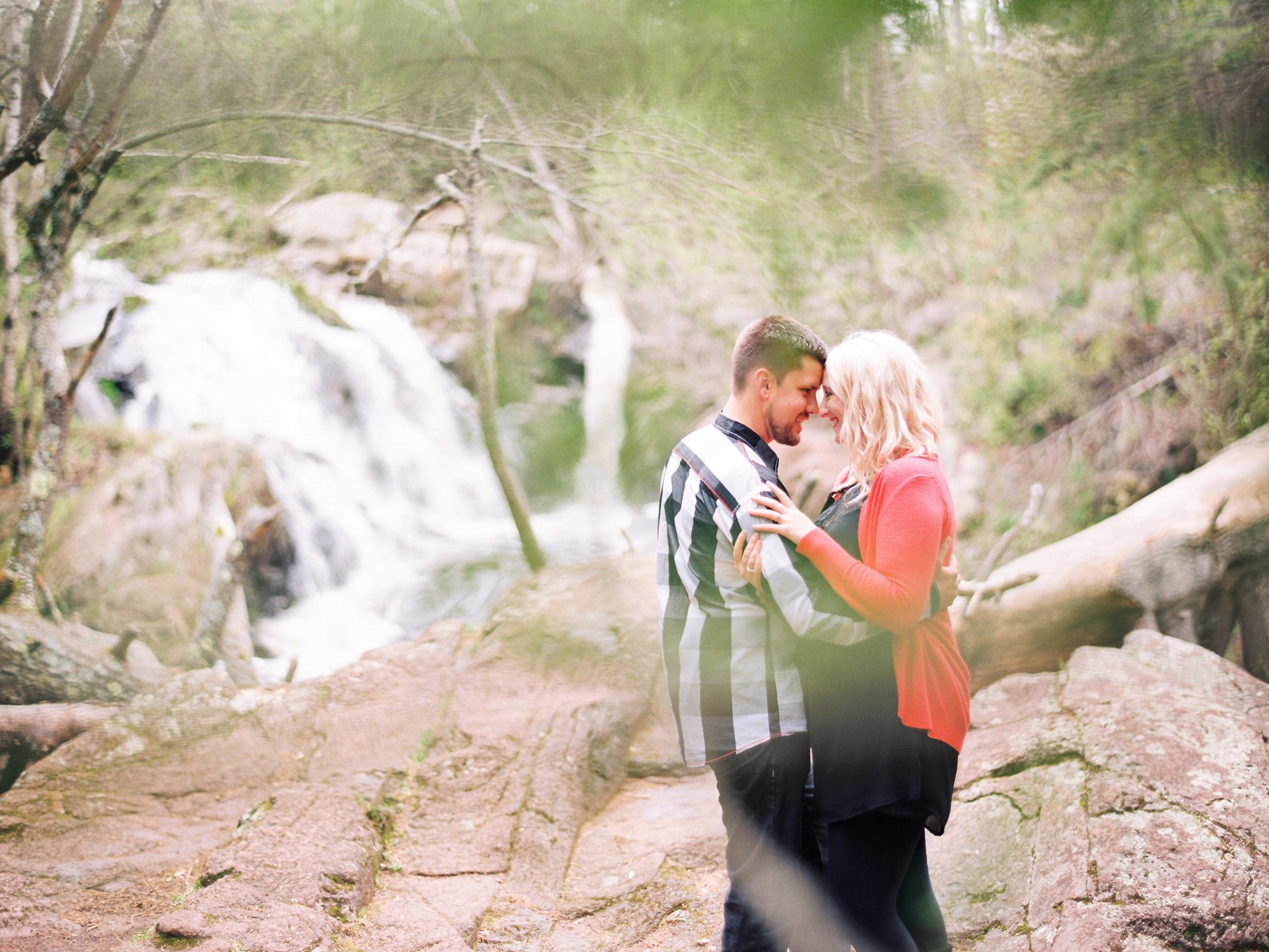 Duluth Film Photographer at Tischer Creek