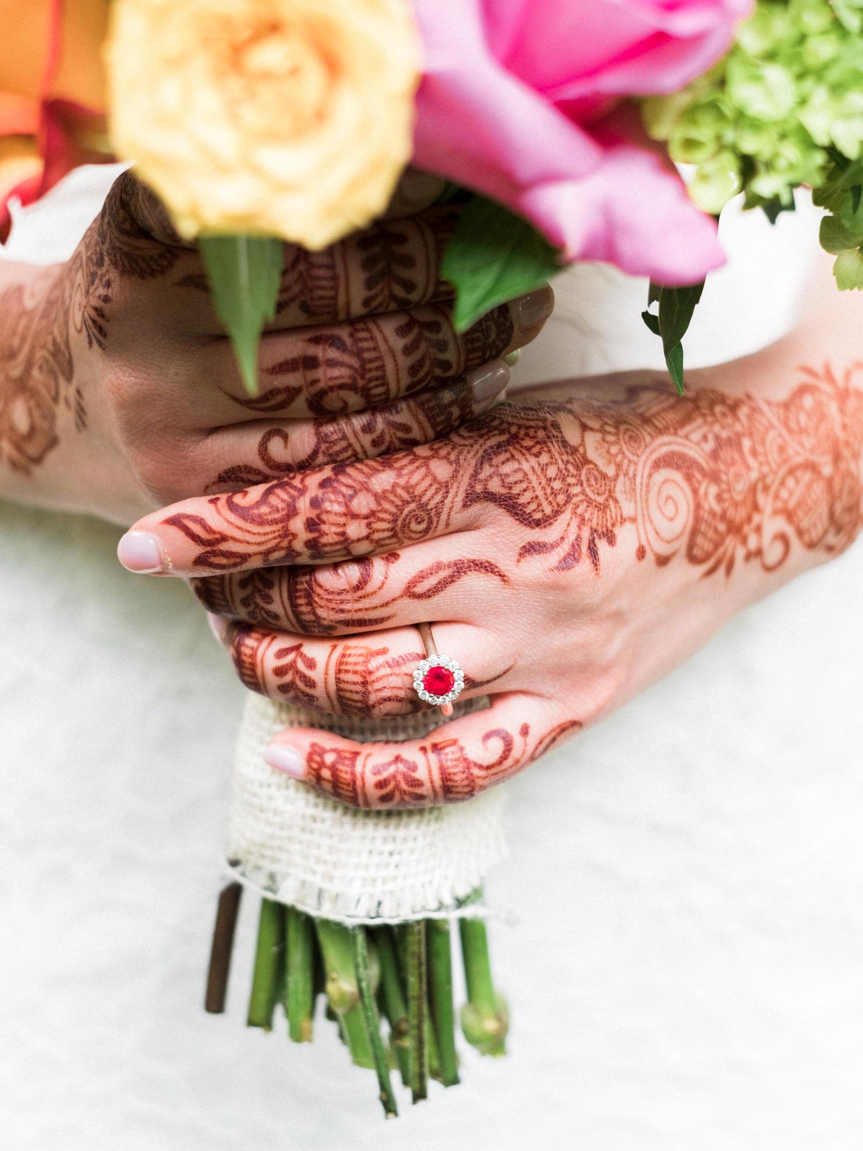 Bloom Lake Barn Northern MN Wedding henna