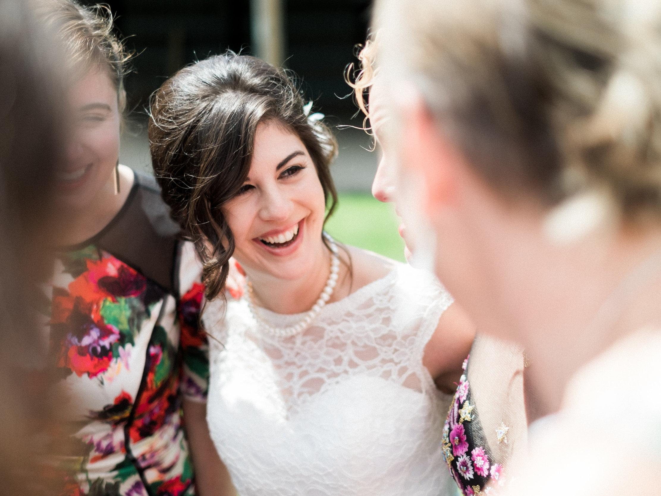 Bloom Lake Barn wedding party portraits