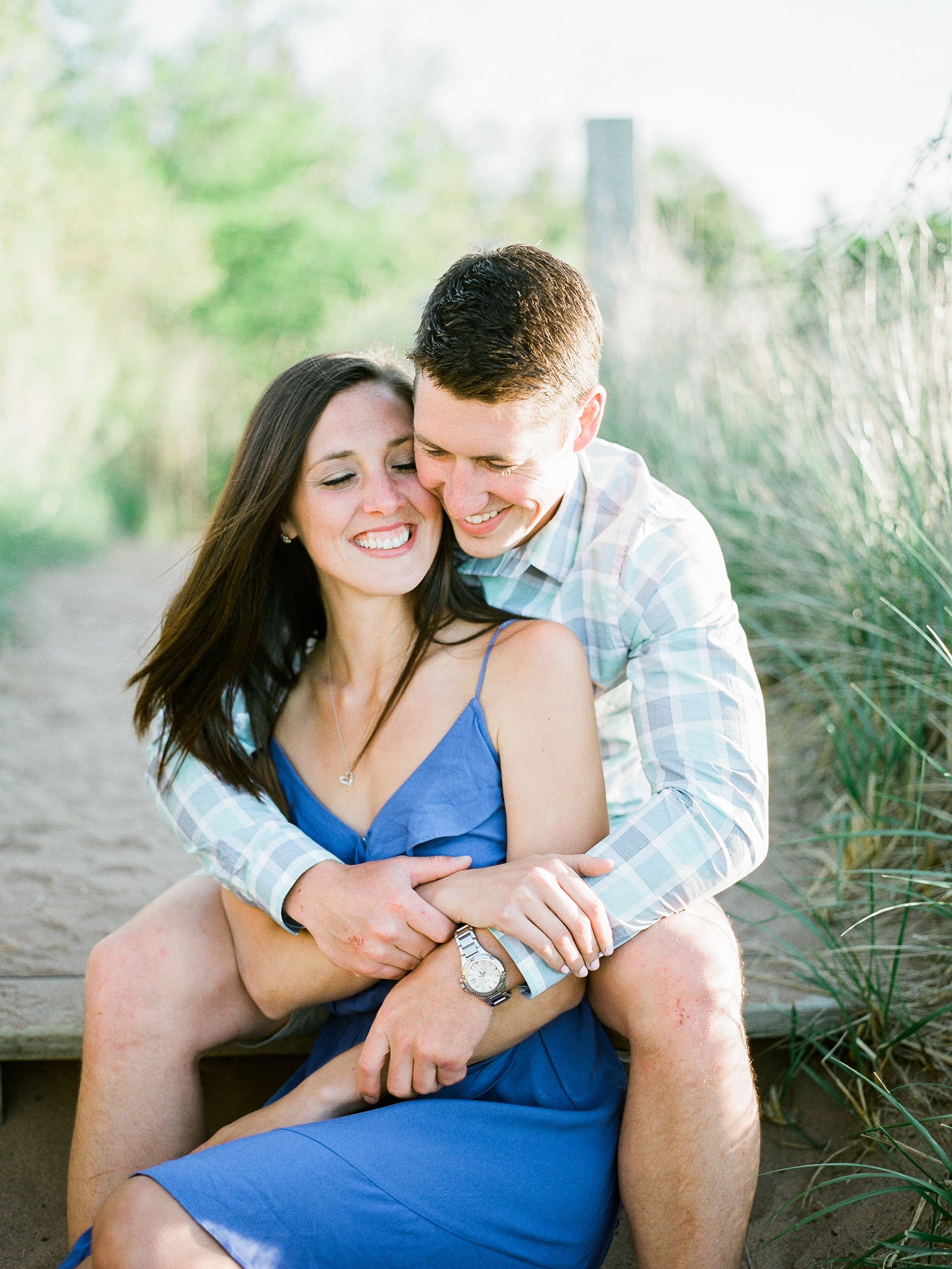 Duluth MN marina engagement session at Canal Park