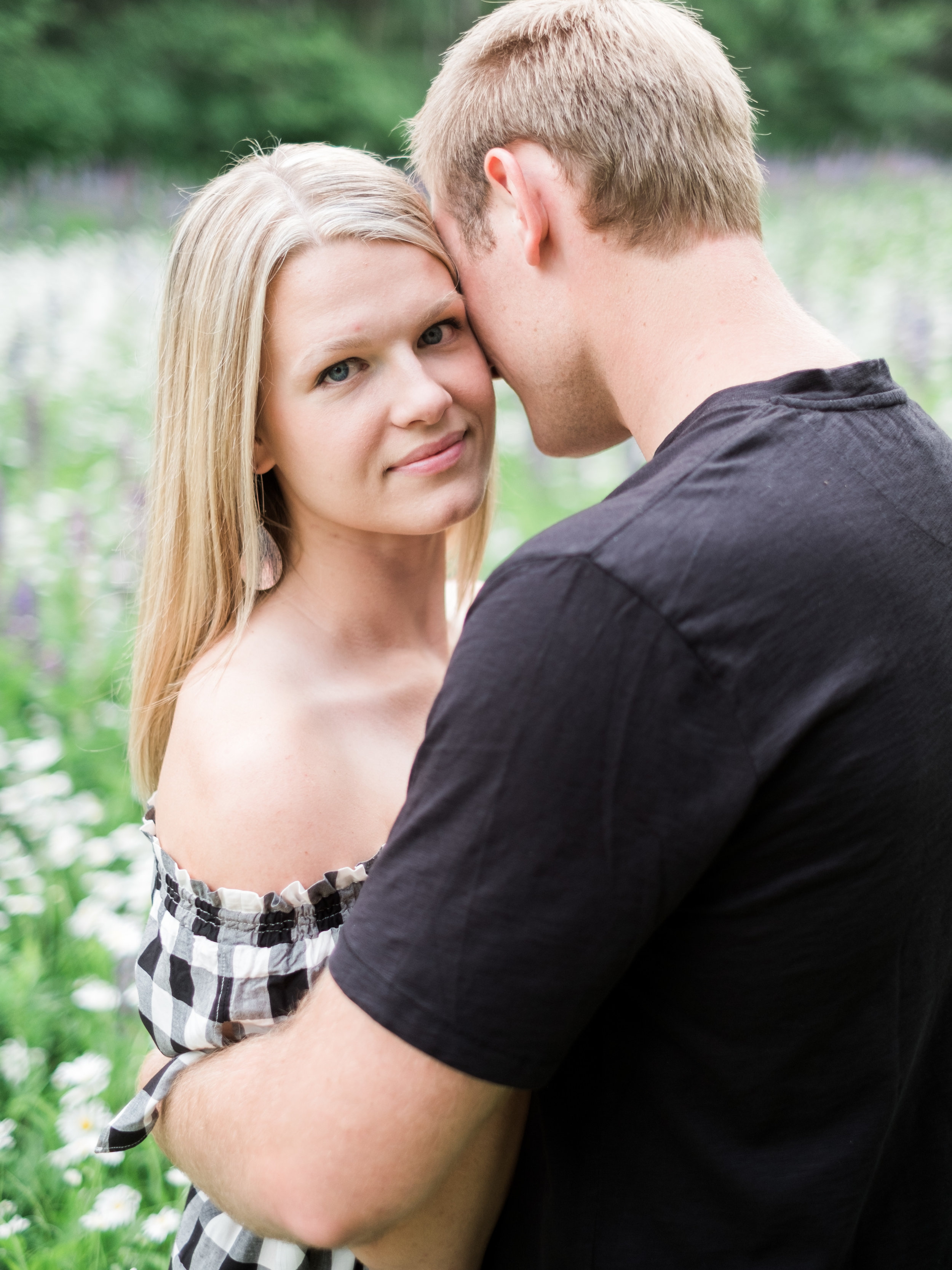 Crosslake MN Spring Engagement Session
