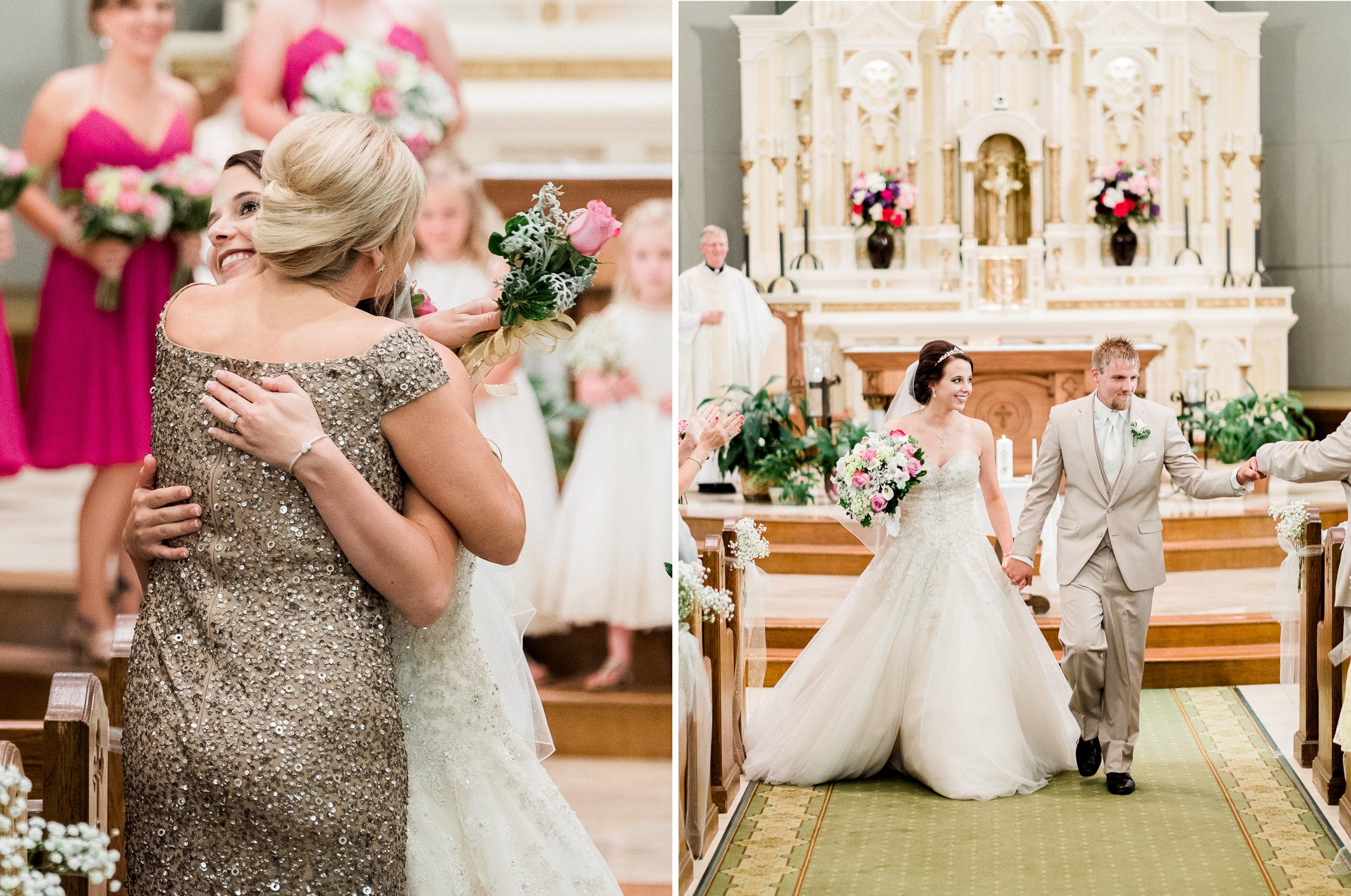 Catholic wedding in Marshall MN