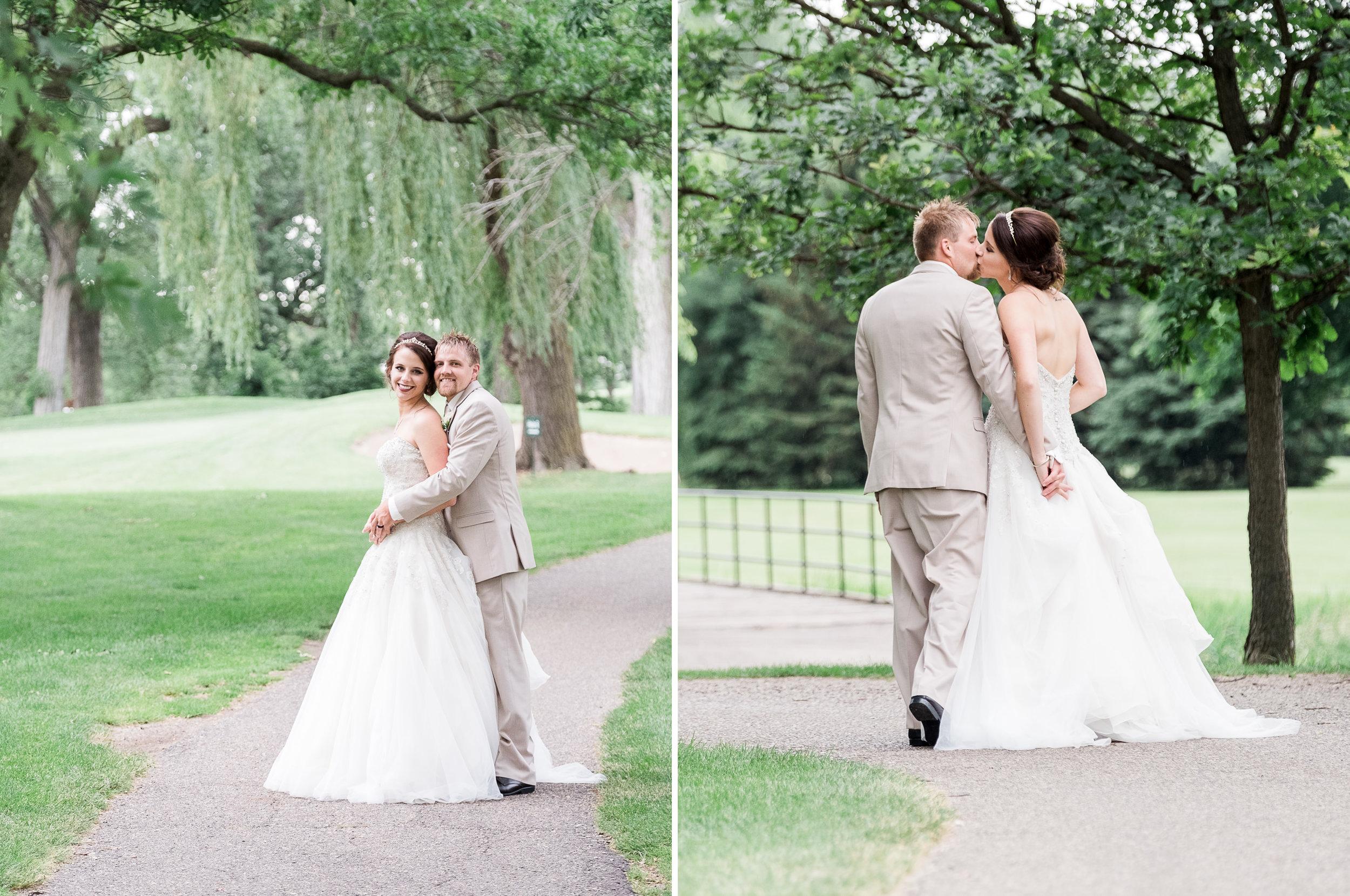 Marshall Golf Course summer wedding photographer