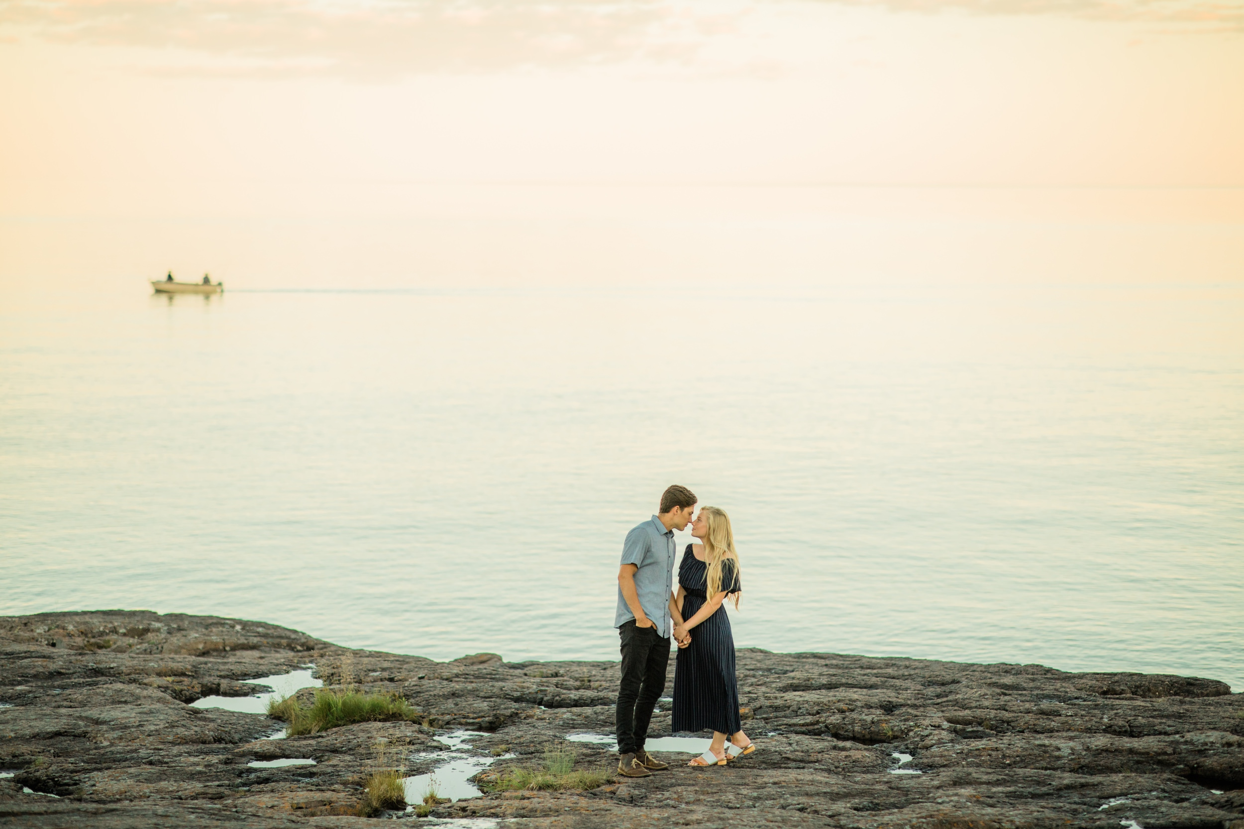 Gooseberry Falls Engagement Session North Shore MN