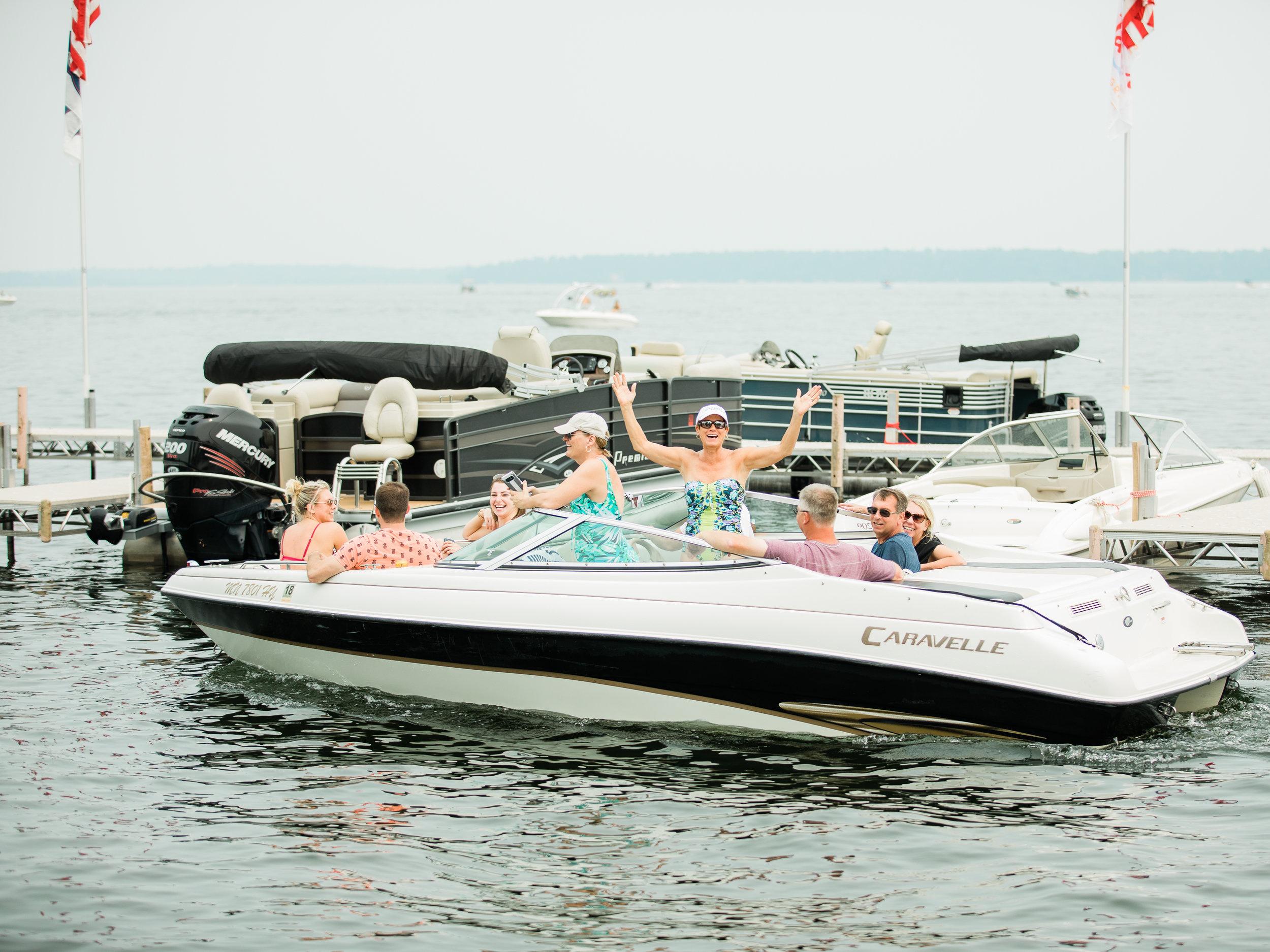 Quarterdeck Resort Gull Lake Wedding