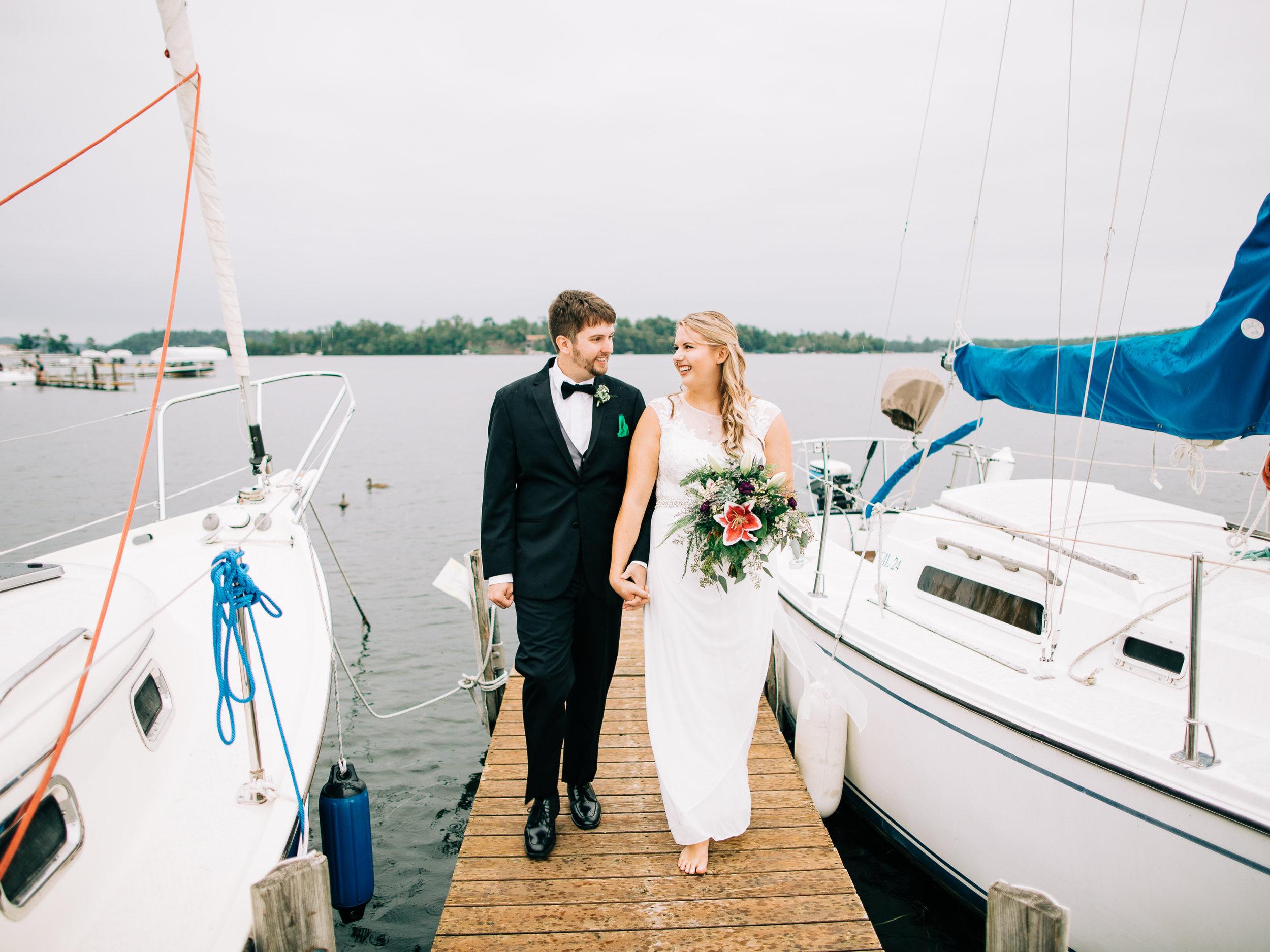 Craguns Resort on Gull Lake Wedding