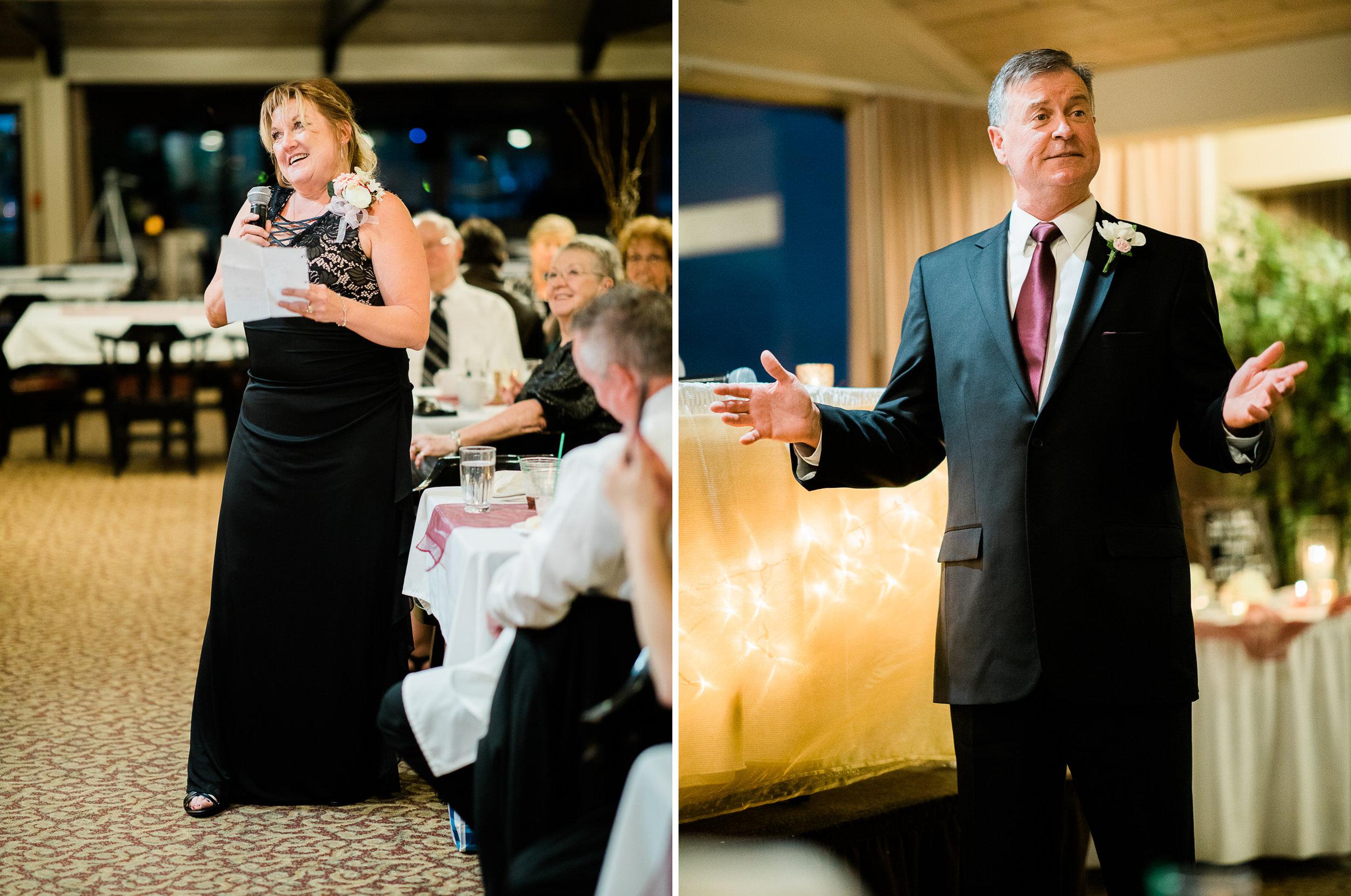 Cragun's Resort Fall Wedding on Gull Lake in Brainerd MN