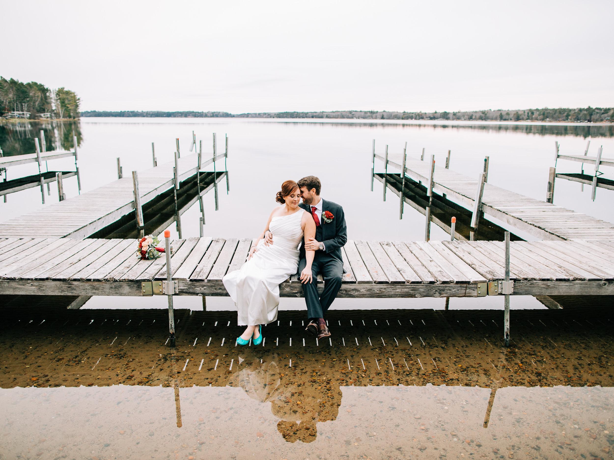 Crosslake MN Fall Wedding