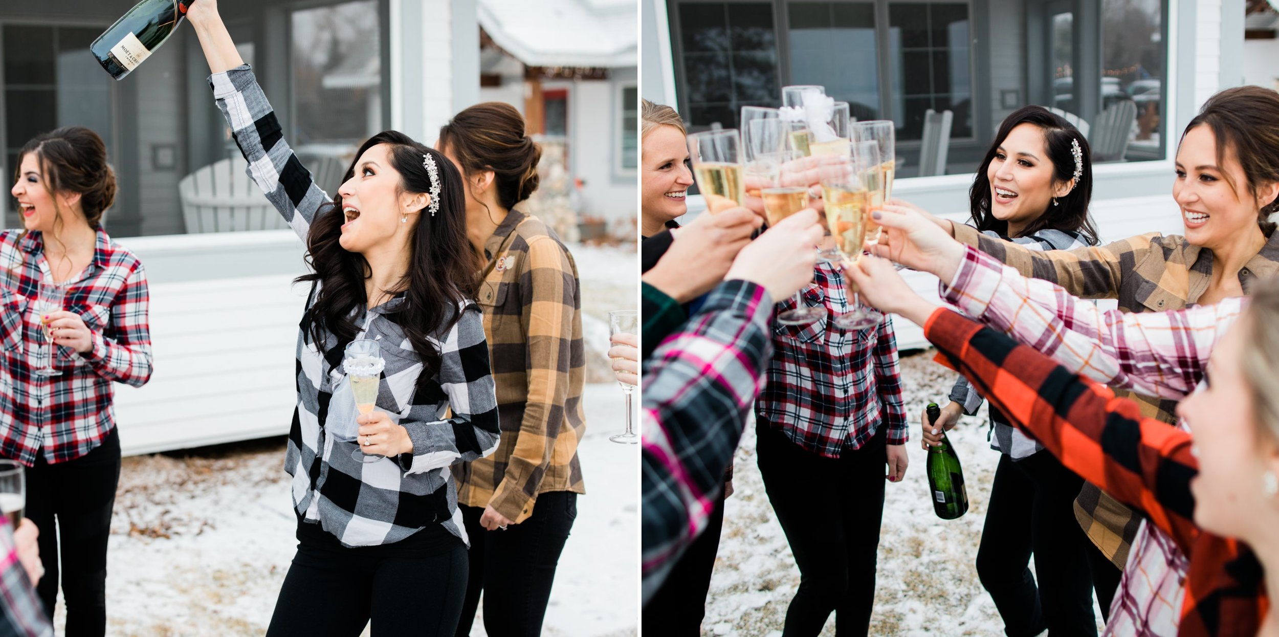 Quarterdeck Winter Wedding in Brainerd, MN
