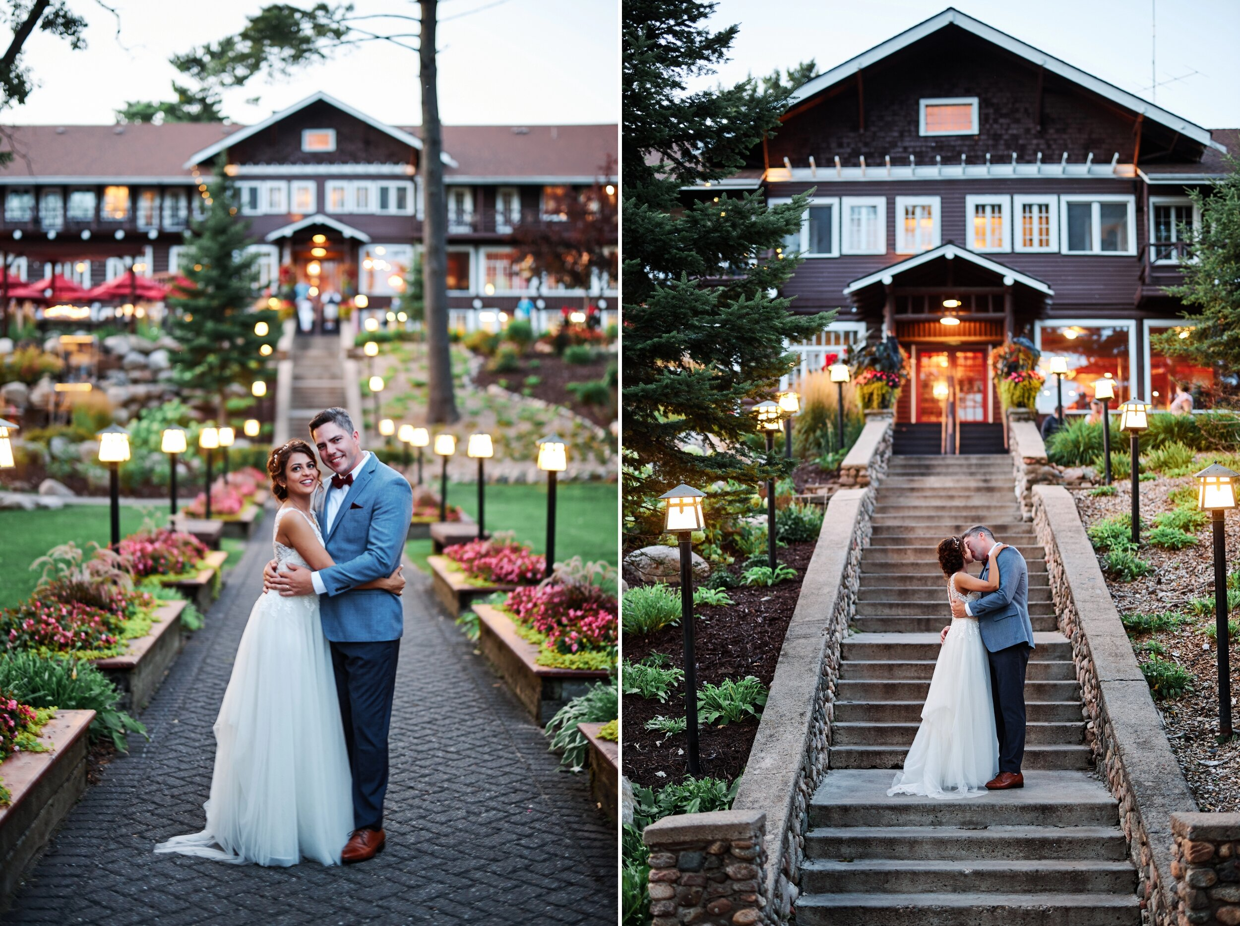 Grand View Lodge on Gull Lake Wedding on a Friday