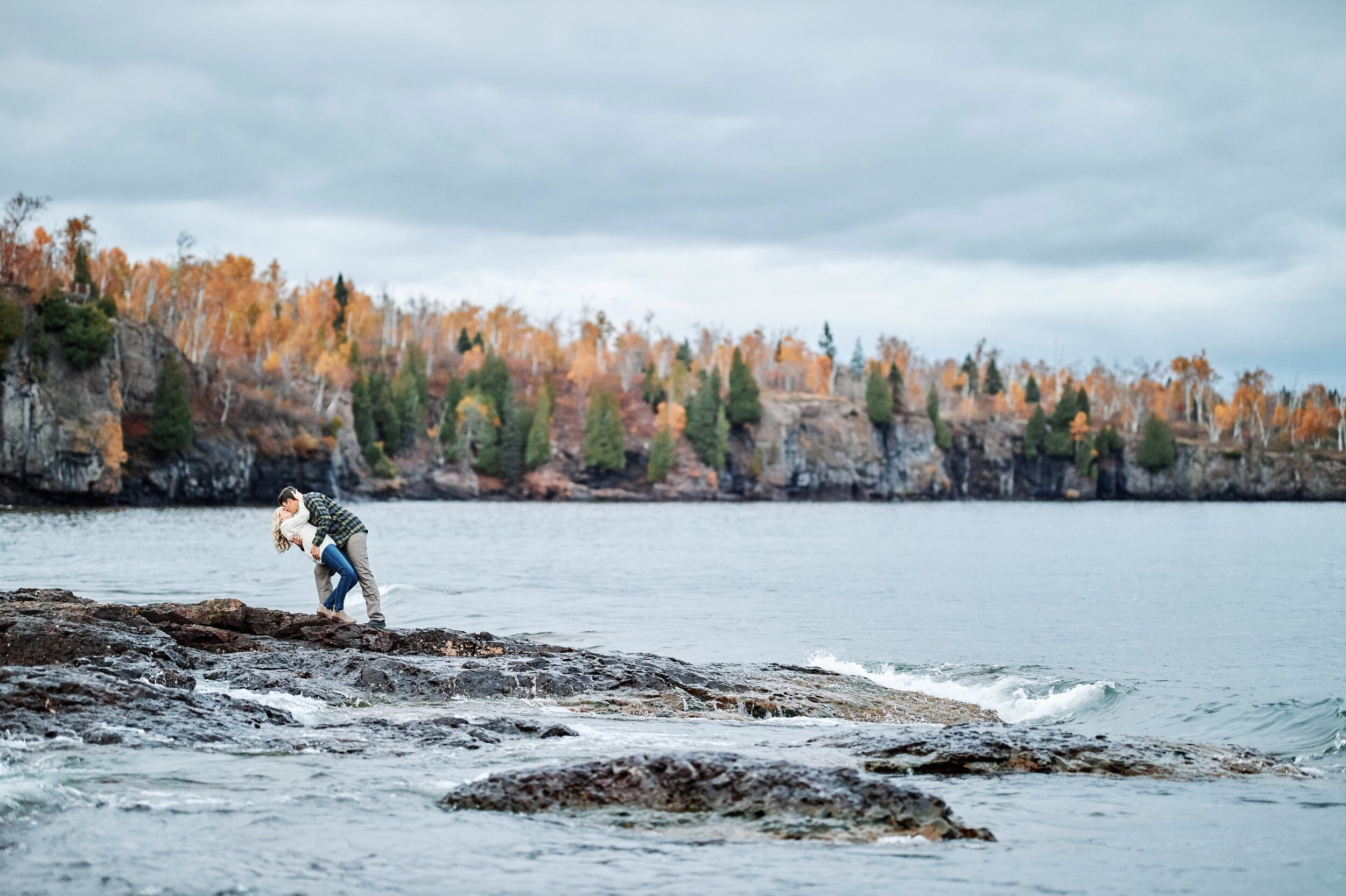 Gooseberry Falls State Park Engagement Session
