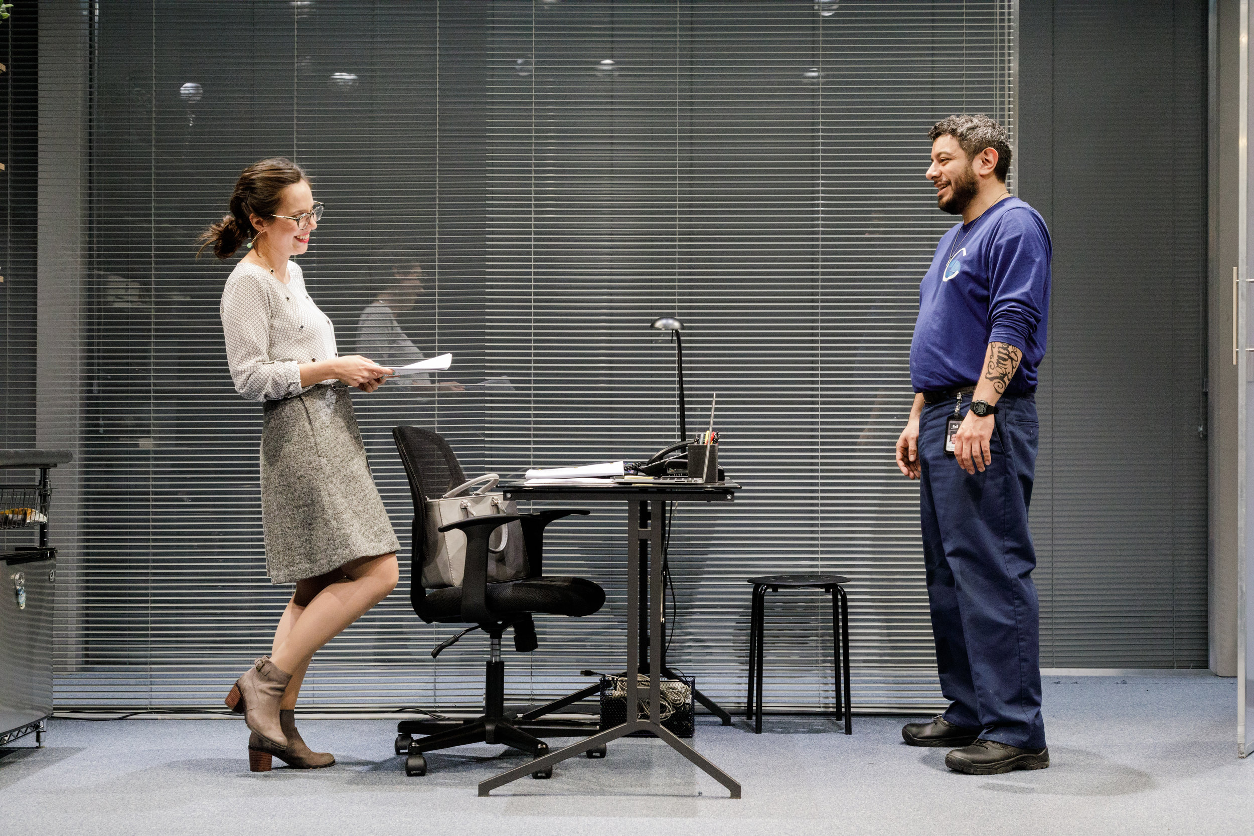 Annie Dow  and Eddie Martinez in Tanya Saracho's FADE at Primary Stages.jpeg
