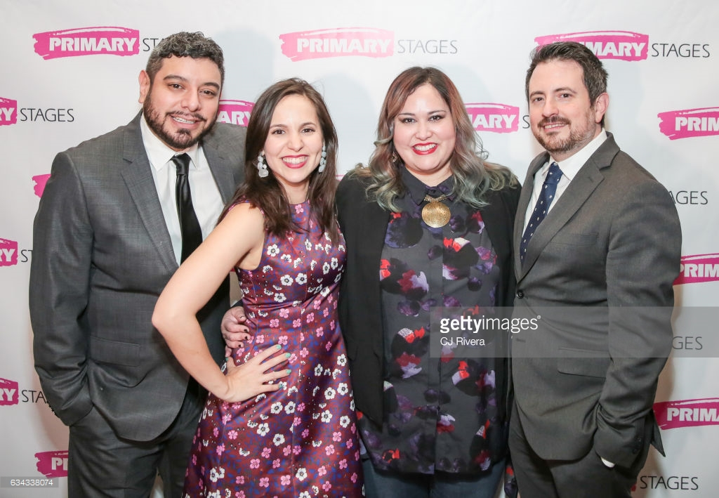 From left: Eddie Martinez, Annie Dow, Tanya Saracho, and Jerry Ruiz