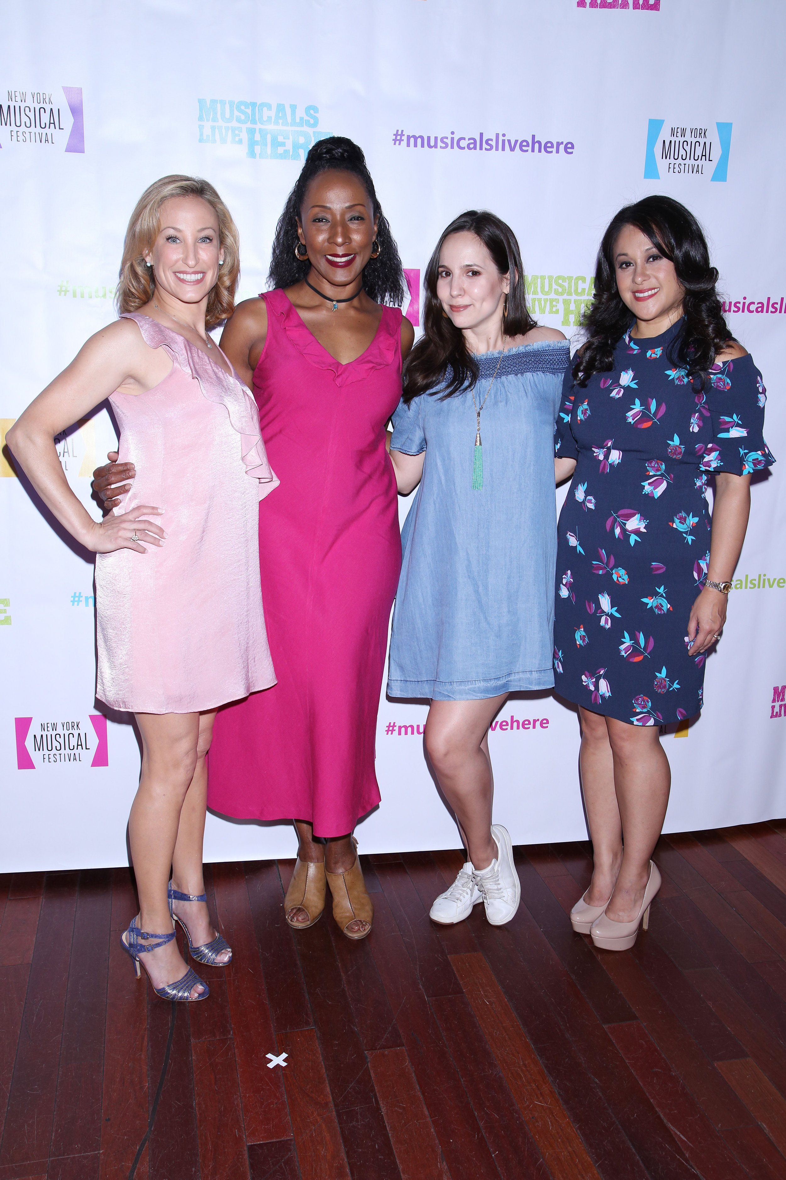 Erin Leigh Peck, Harriet D. Foy, Annie Dow, and Veronica Reyes-How.