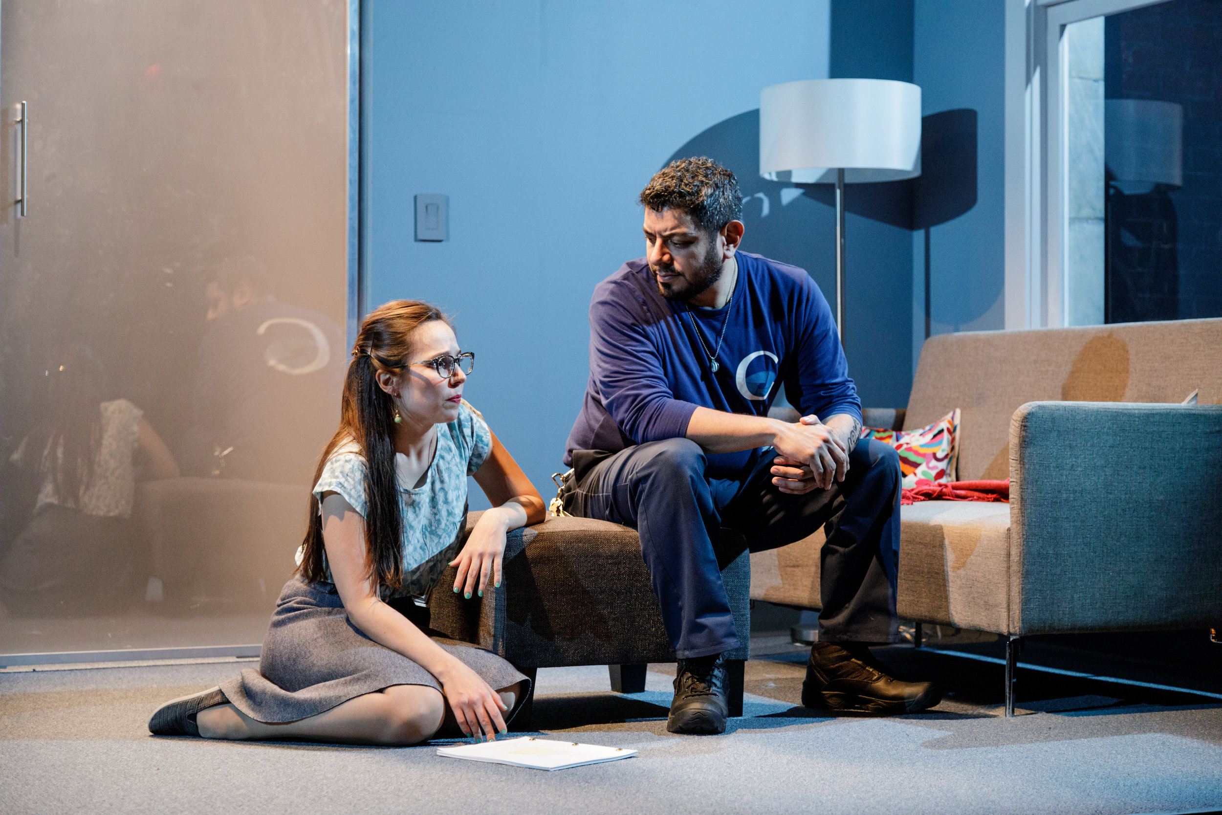 Annie Dow and Eddie Martinez in Tanya Saracho's FADE at Primary Stages-2.jpeg