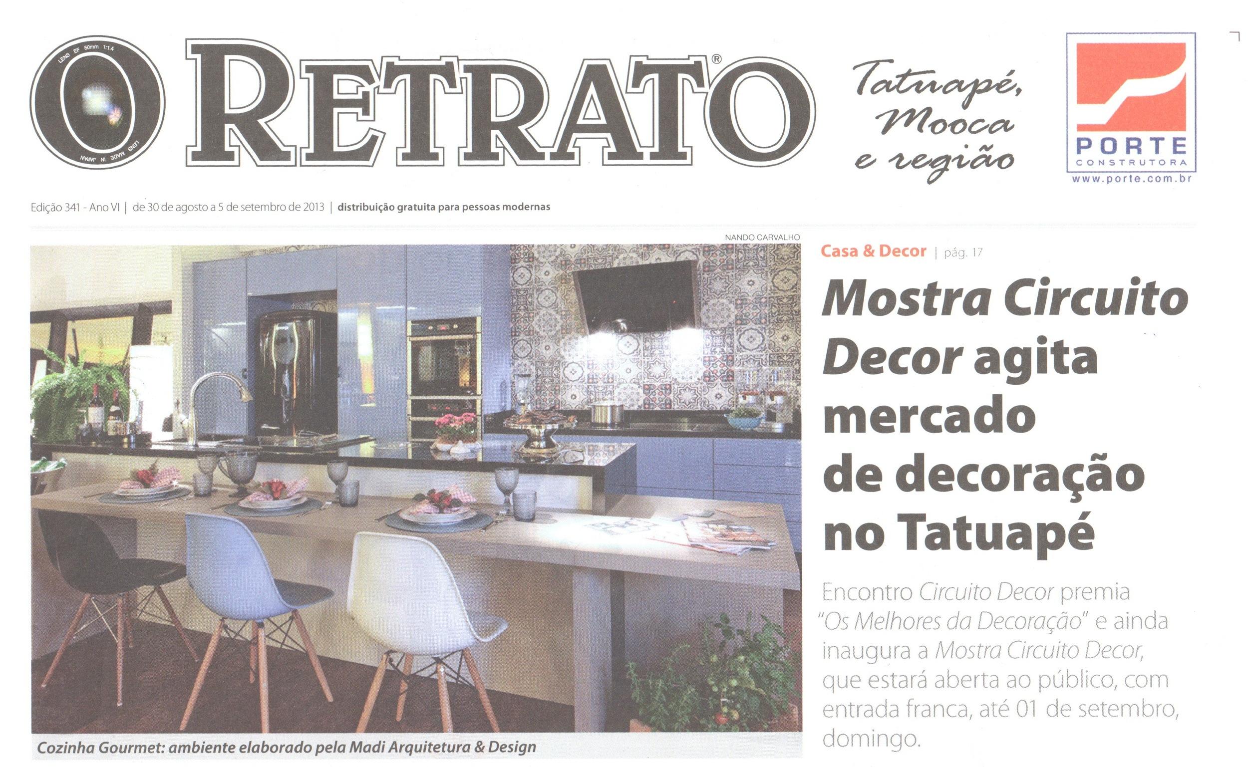 Jornal O Retrato  Agosto/2013