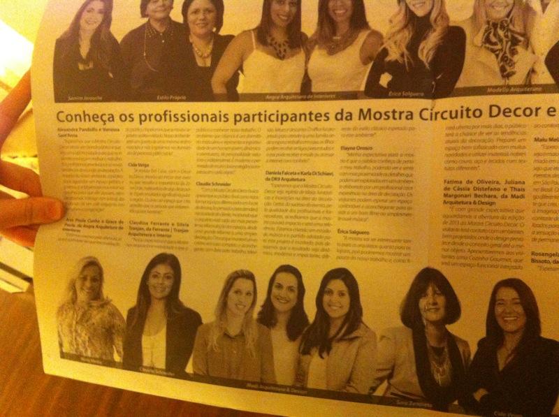Foto do Jornal O Retrato - Foto: Mdi Arquitetura e Design