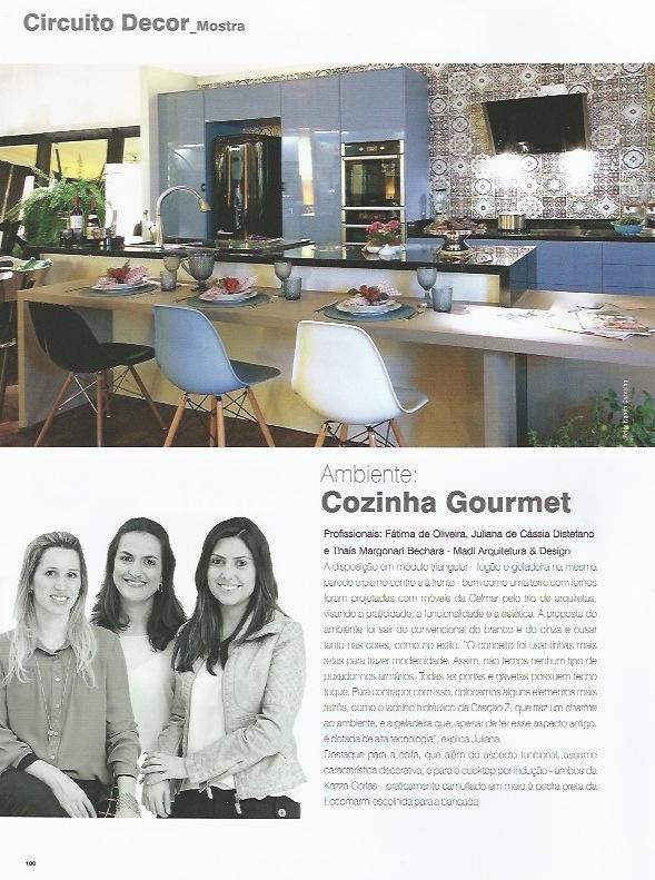 Cozinha Gourmet -Fonte: Revista Em Casa Set/13