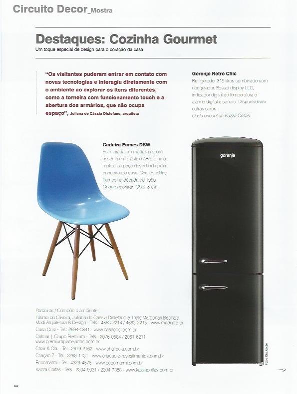 Detalhes da Cozinha Gourmet - Revista Em Casa